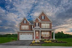 homes in Maple Lawn South by NVHomes