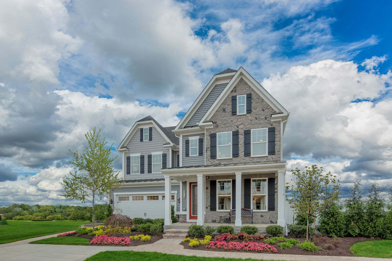 Exterior featured in the Tyler By NVHomes in Baltimore, MD