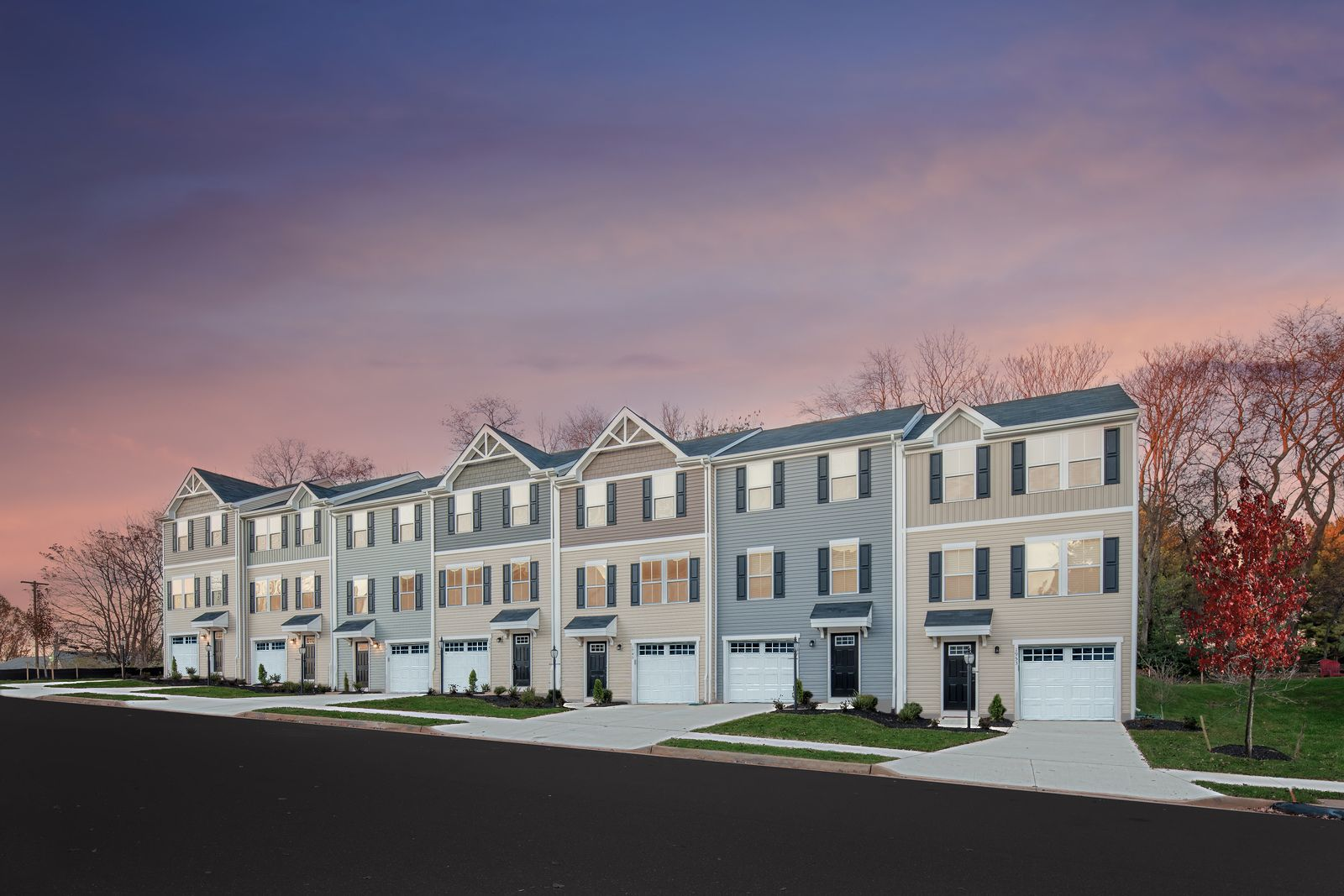 Experience the pride of homeownership in Foxhill Townes:Own a new 1-car garage Townhome w/ your own private yard. Enjoy living near Langley and Norfolk Naval. Schedule a visit todayto see!