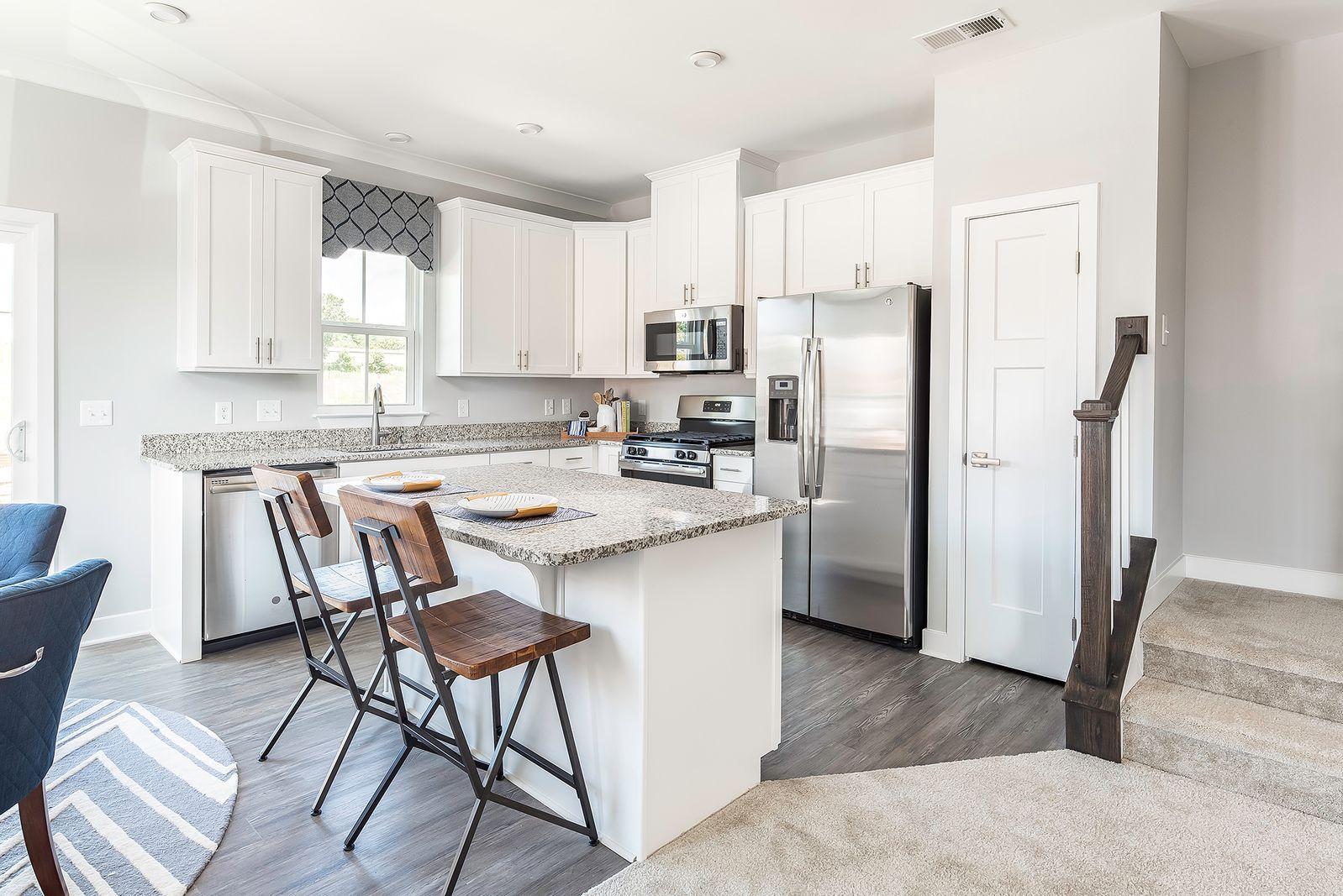 Kitchen featured in the Odessa By Ryan Homes in Greenville-Spartanburg, SC