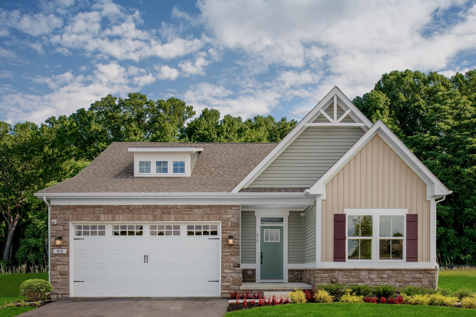Exterior featured in the Bramante By Ryan Homes in Sussex, DE
