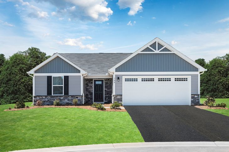 Welcome to The Cottages at Auburn Meadows:Click here to schedule a visit today!Visit the fully decorated model home, and feel what it would be like to live in a new ranch home on a spacious 1/3 acre homesite with a low-maintenance lifestyle.