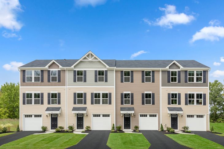 HOMEOWNERSHIP IS WITHIN REACH AT HILLSIDE AT PENN'S RIDGE:Don't sign another lease before you learn how affordable it can be to own a brand new townhome.