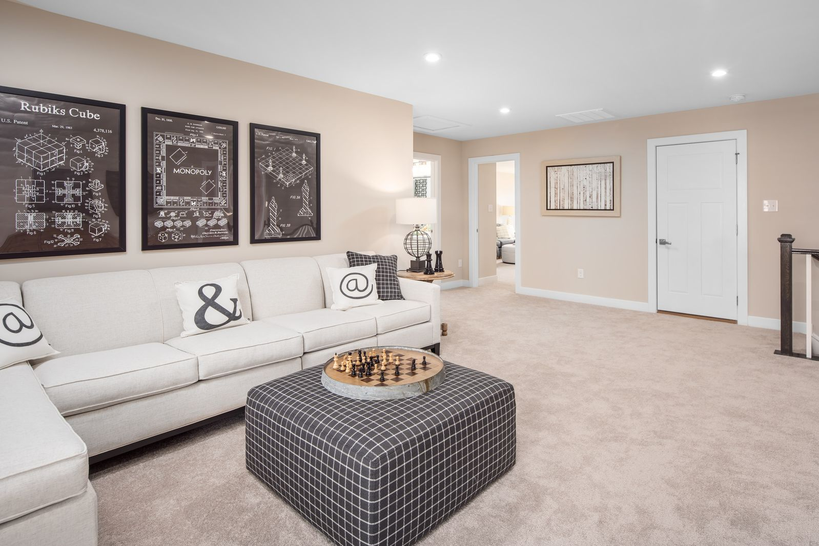 Living Area featured in the Genoa By Ryan Homes in Indianapolis, IN