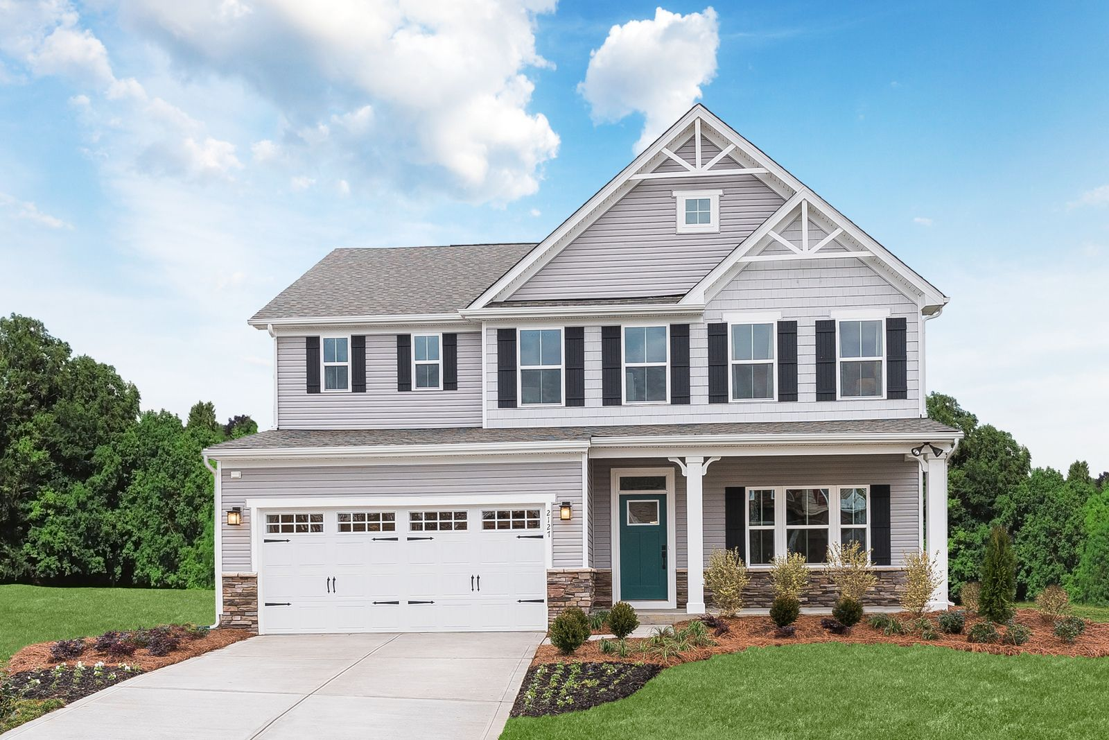 Exterior featured in the Lehigh By Ryan Homes in Cleveland, OH