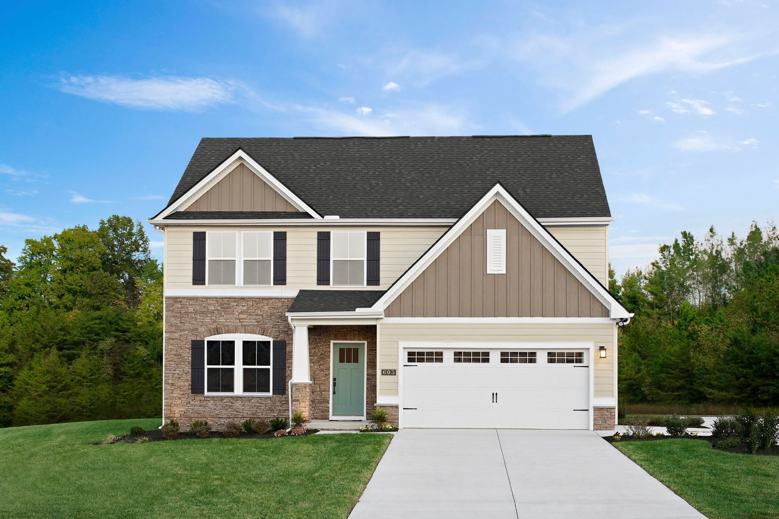 Exterior featured in the Genoa By Ryan Homes in Cleveland, OH