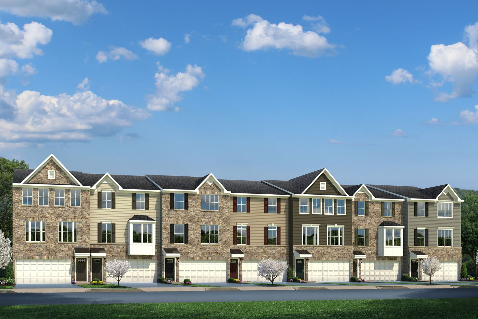 Exterior featured in the Schubert By Ryan Homes in Morris County, NJ