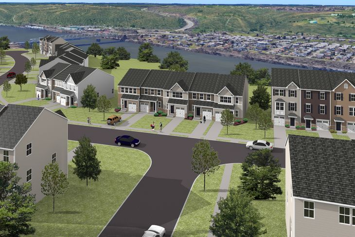Welcome to The Village at Riverside:Pittsburgh's most affordable new home community! River views, walking to shopping & dining & minutes to I-376 & Downtown Beaver. Click hereto schedule your visit.