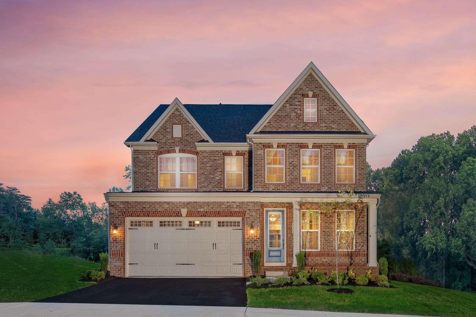 Exterior featured in the Baldwin By NVHomes in Washington, MD