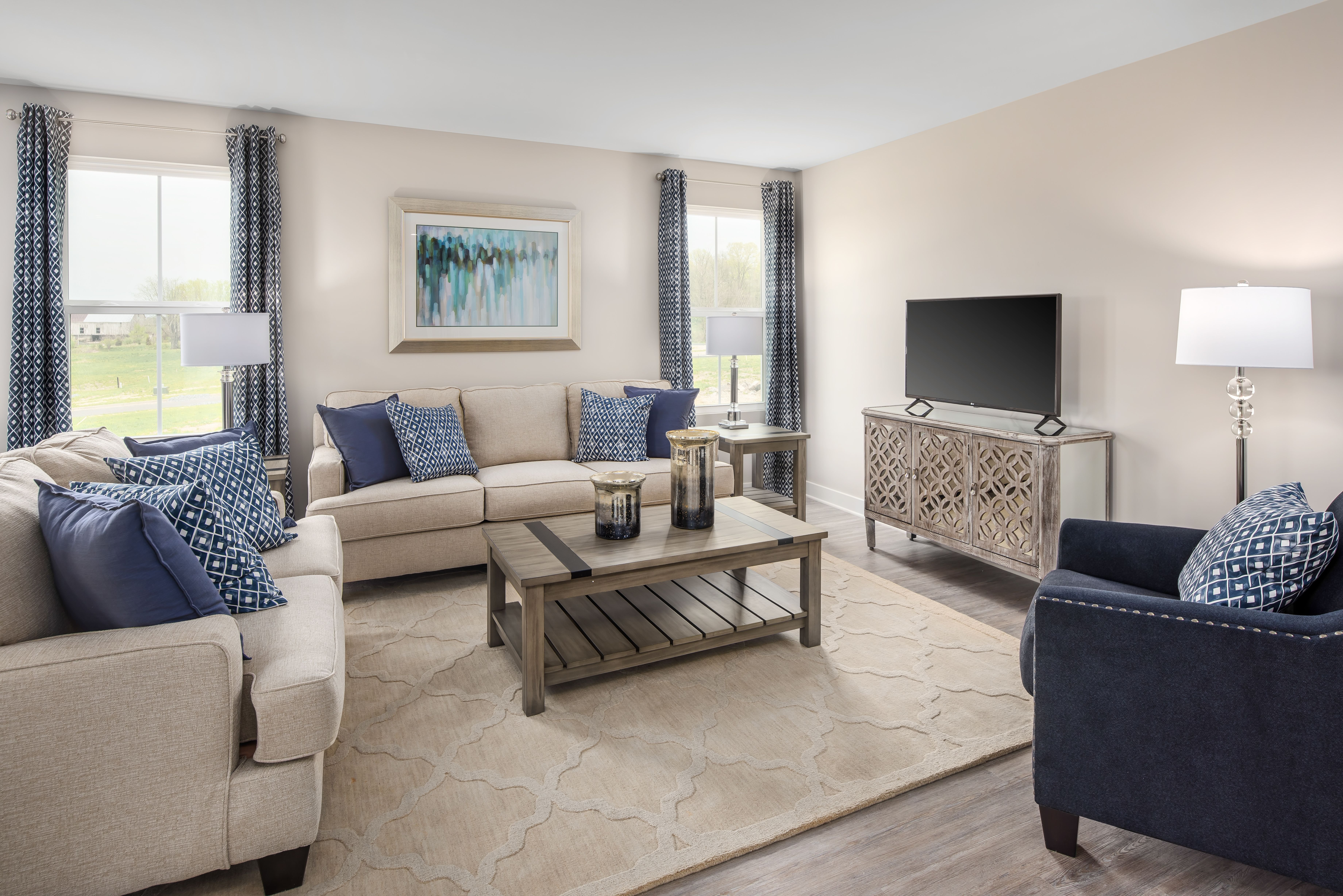 Living Area featured in the Bahama By Ryan Homes in Cincinnati, OH
