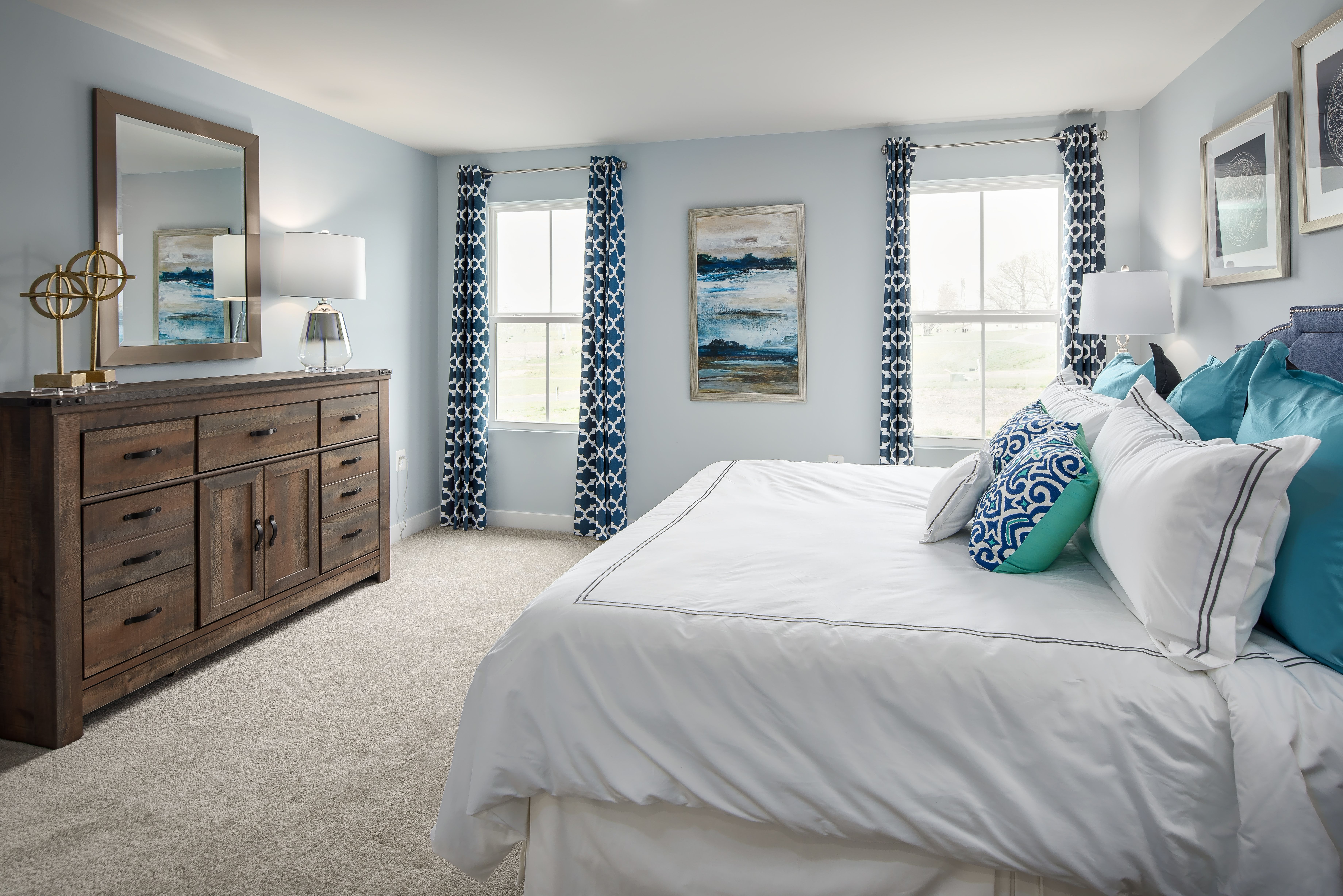 Bedroom featured in the Bahama By Ryan Homes in Rochester, NY