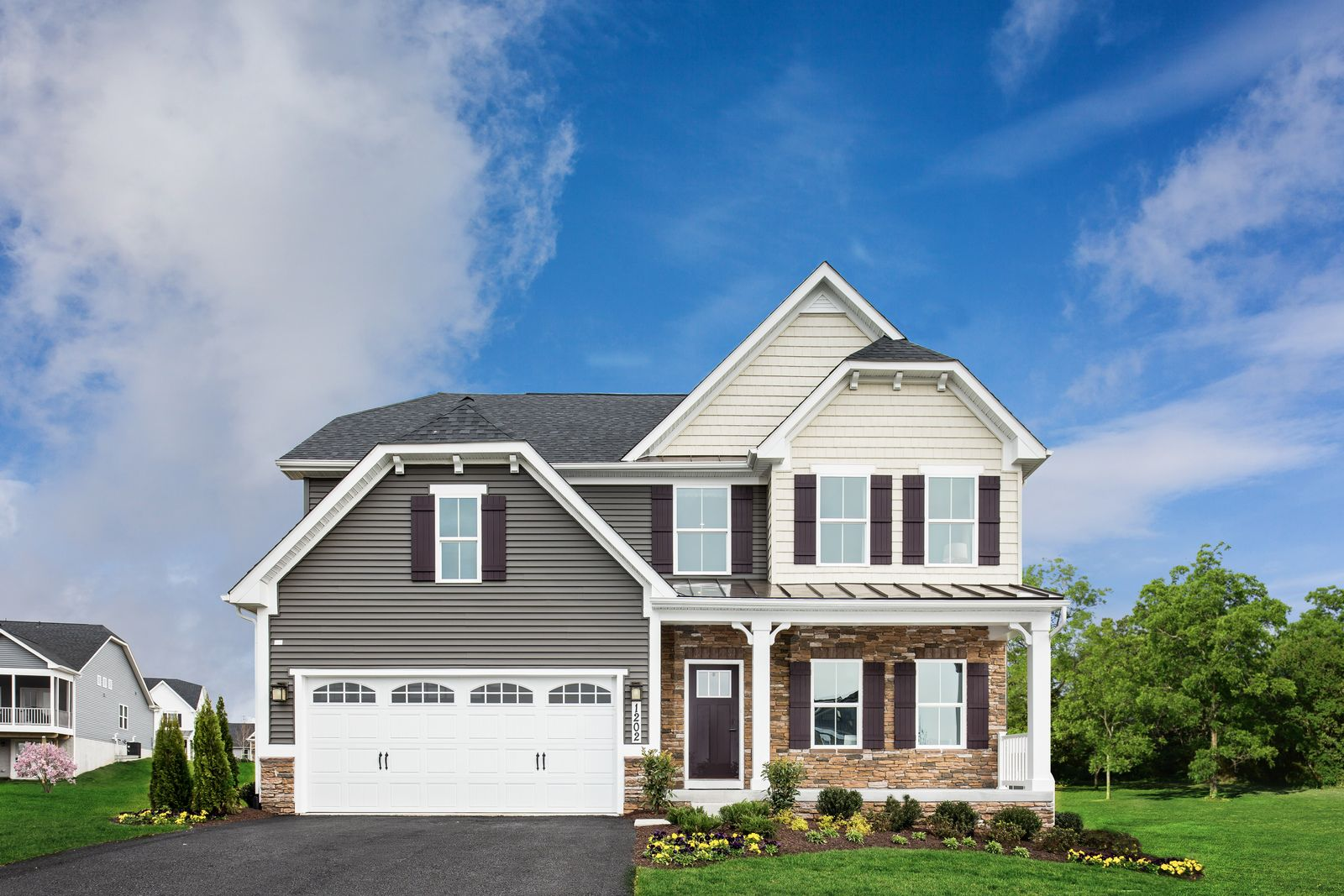 Exterior featured in the Genoa By Ryan Homes in Pittsburgh, PA
