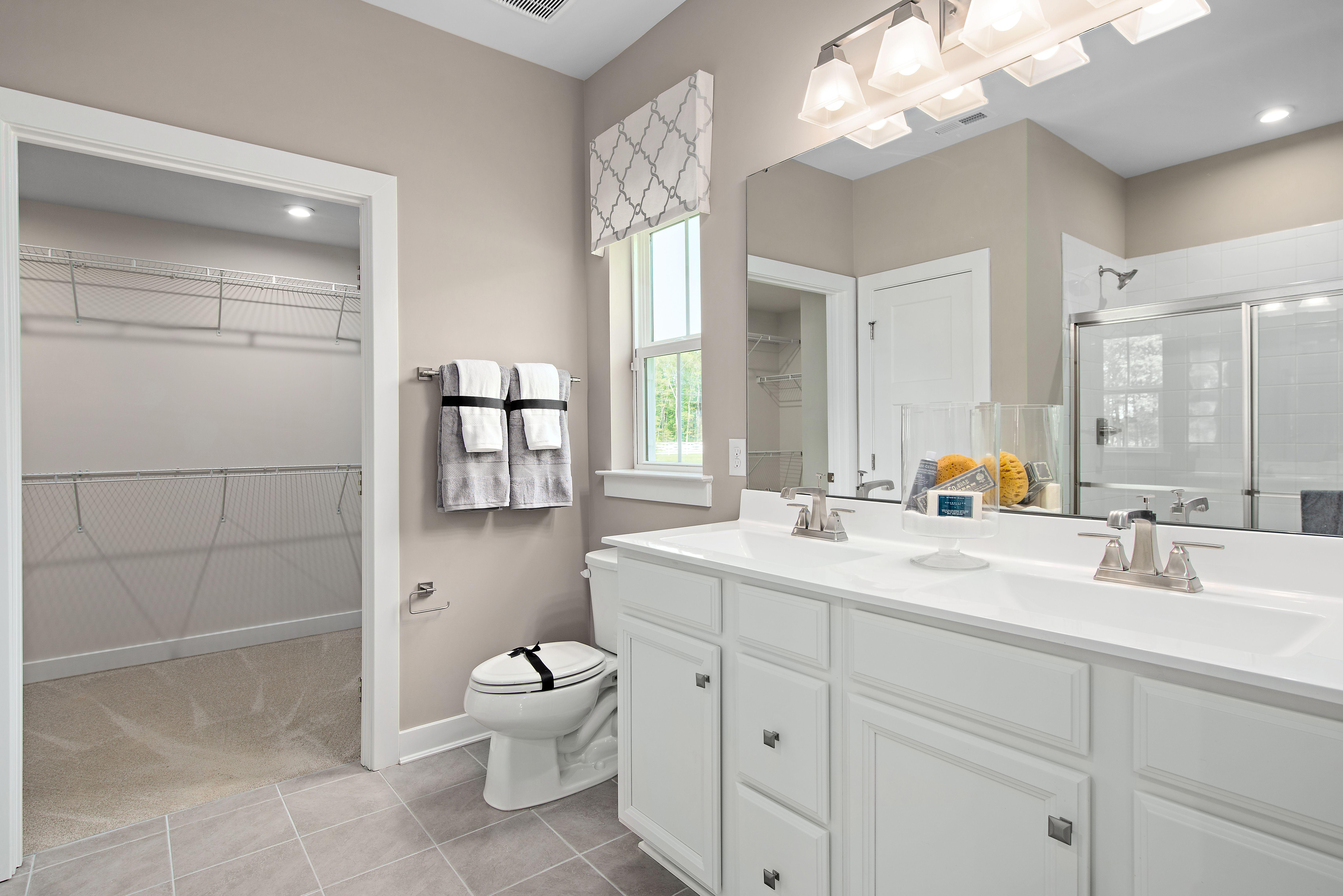 Bathroom featured in the Bramante 2 Story By Ryan Homes in Philadelphia, NJ