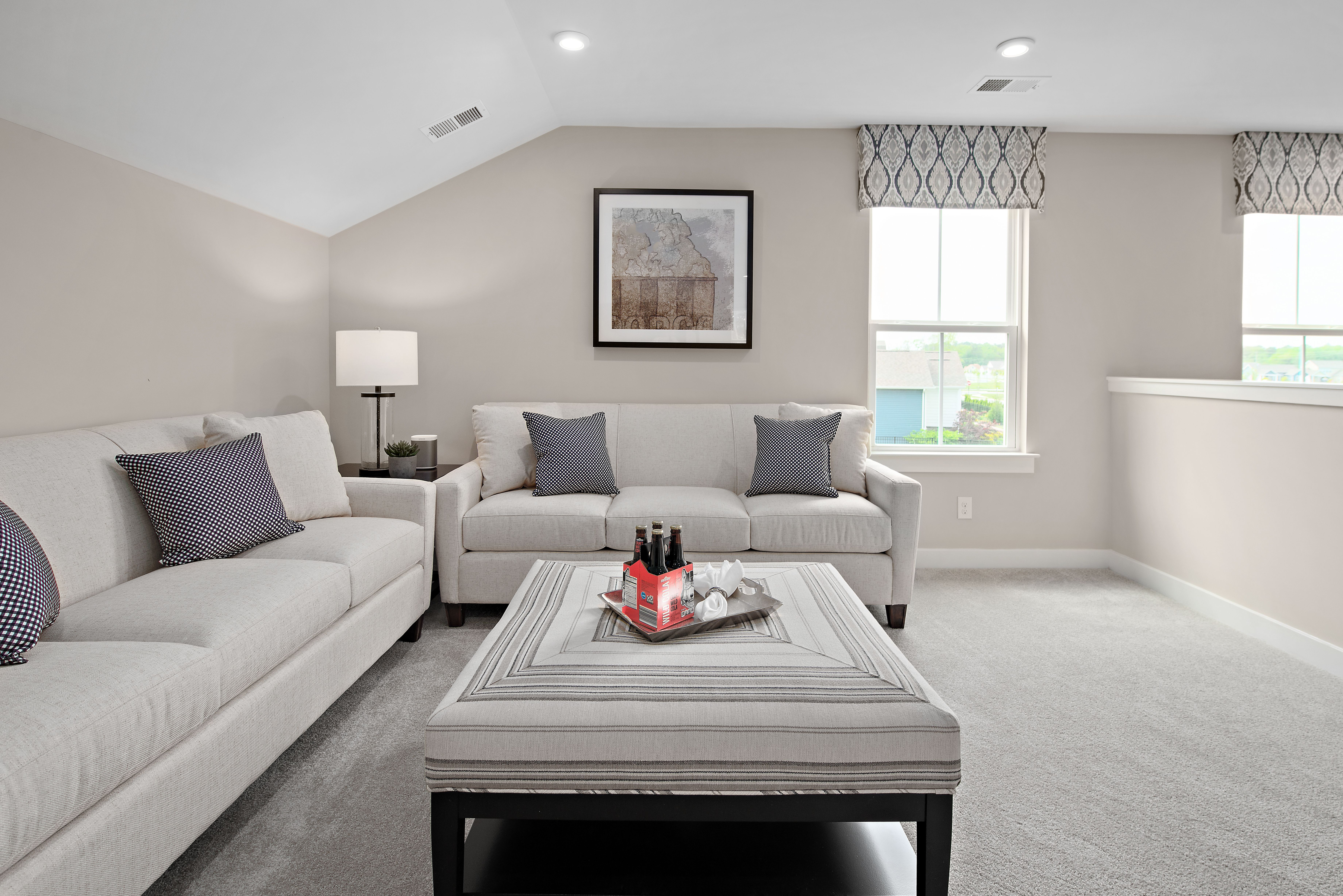 Living Area featured in the Bramante 2 Story By Ryan Homes in Philadelphia, NJ