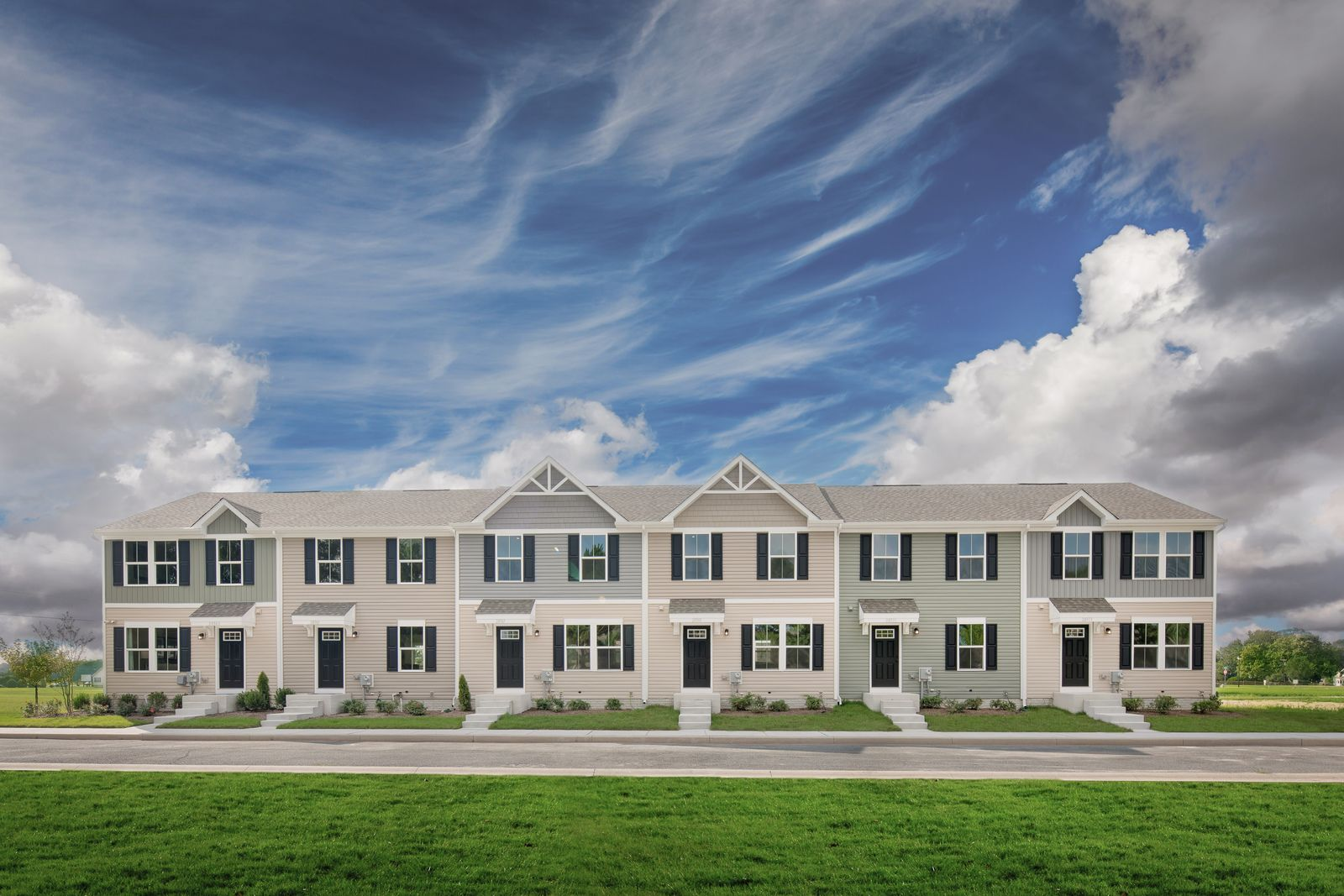 'Walnut Hill Townes' by Ryan Homes-GVL in Greenville-Spartanburg