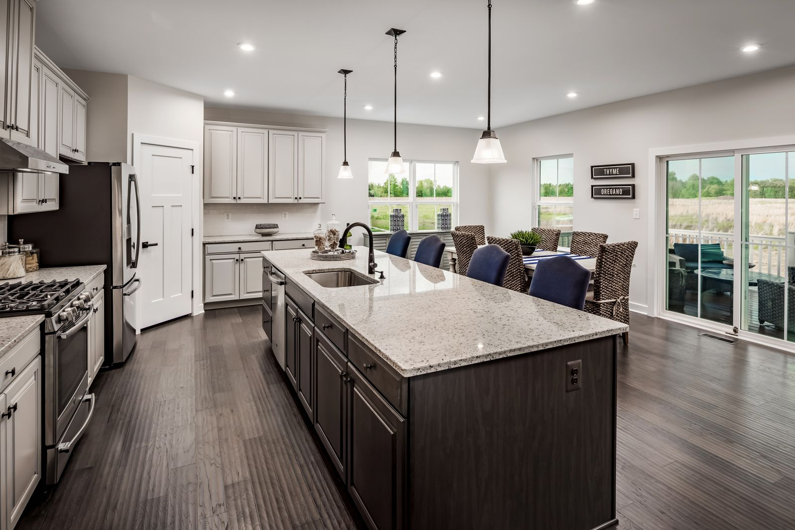 Kitchen featured in the York By Ryan Homes in Buffalo-Niagara Falls, NY