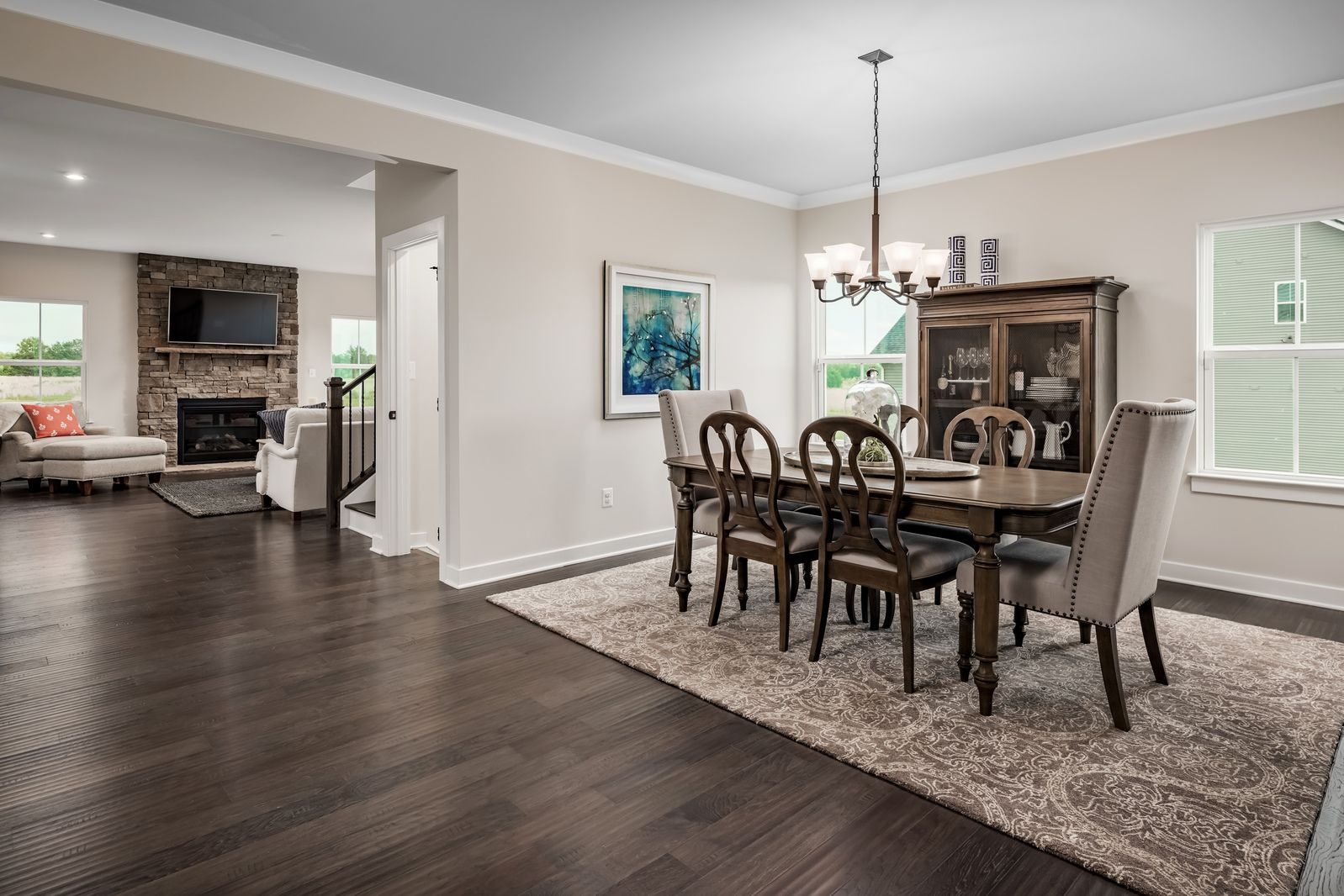 Living Area featured in the York By Ryan Homes in Buffalo-Niagara Falls, NY