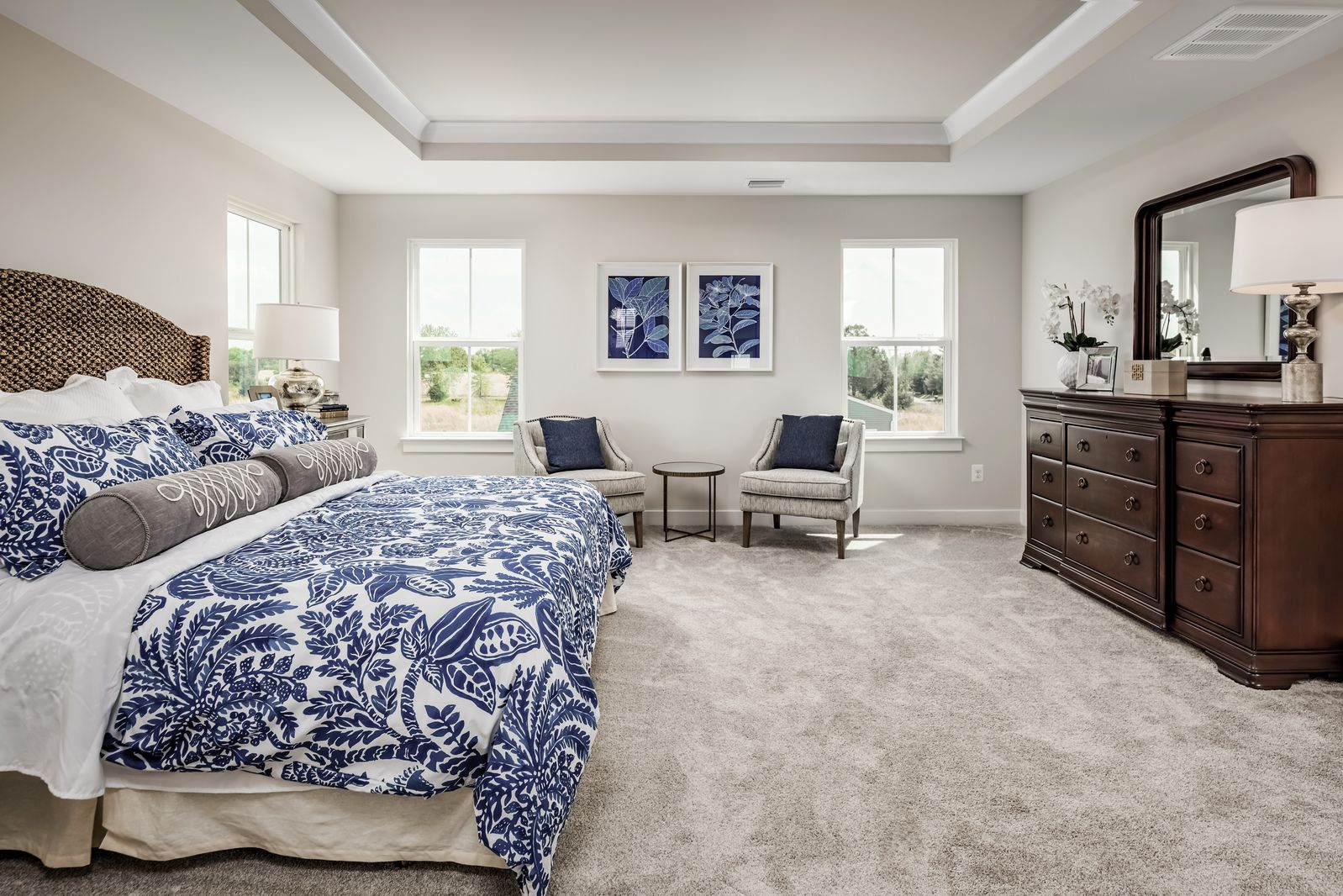 Bedroom featured in the York By Ryan Homes in Buffalo-Niagara Falls, NY