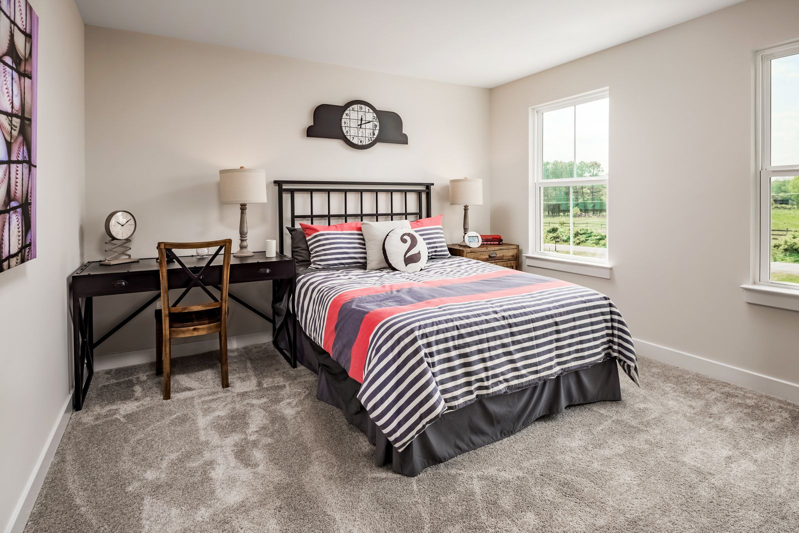 Bedroom featured in the York By Ryan Homes in Akron, OH