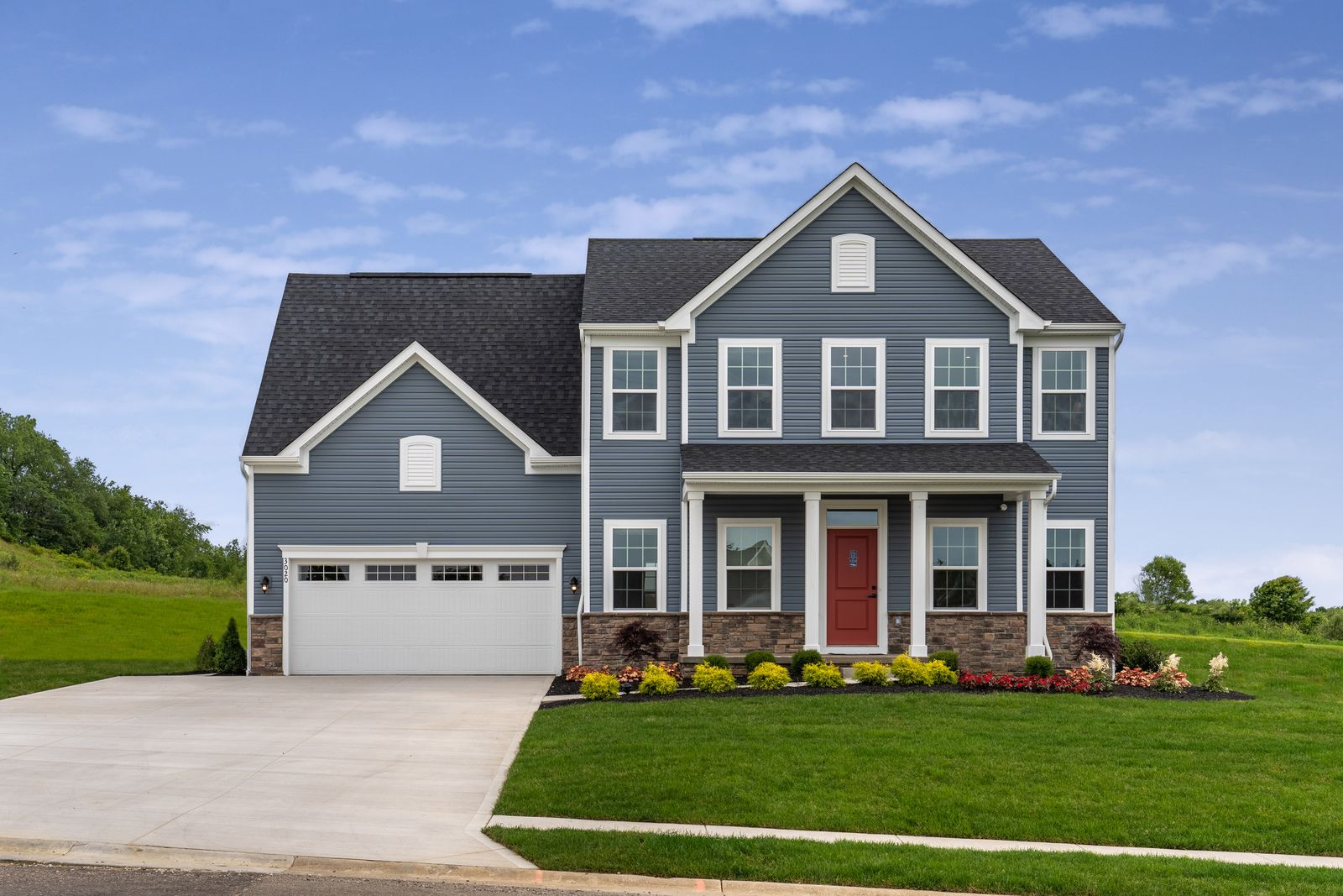 Exterior featured in the Powell Included Basement By Ryan Homes in Cincinnati, OH