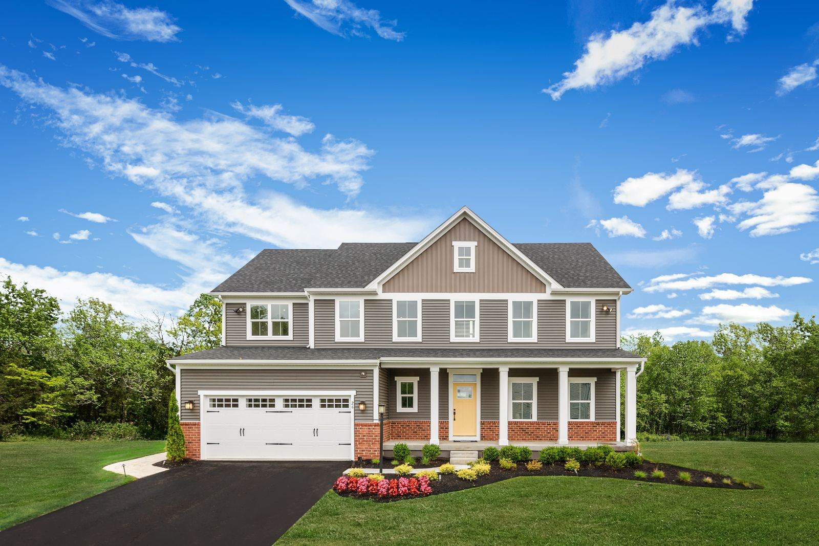 Exterior featured in the Saint Lawrence By Ryan Homes in Harrisburg, PA