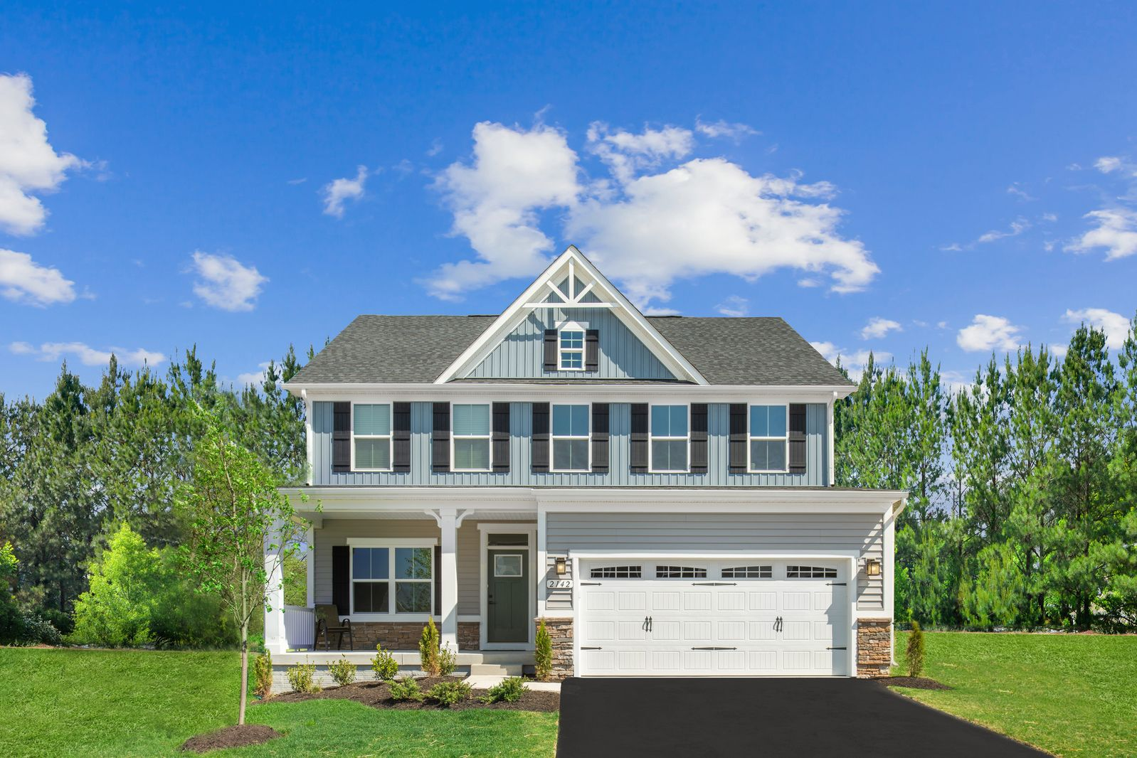 Exterior featured in the Columbia By Ryan Homes in Baltimore, MD