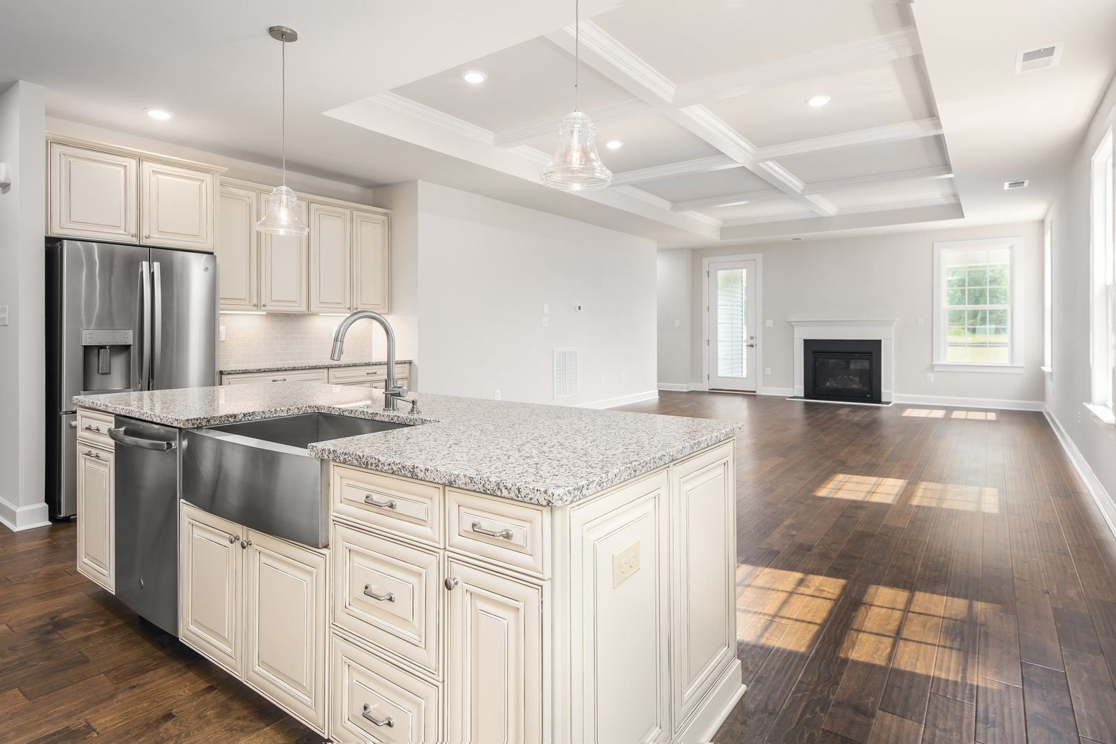 Kitchen featured in the Bennington By NVHomes in Philadelphia, PA