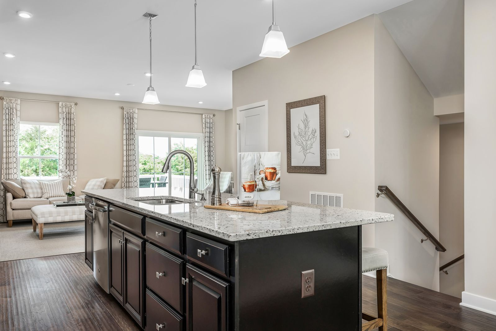 Kitchen featured in the Schubert By Ryan Homes in Morris County, NJ