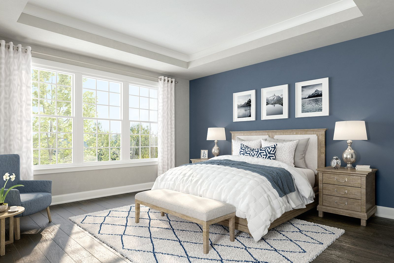 Bedroom featured in the Clarkson By NVHomes in Philadelphia, PA