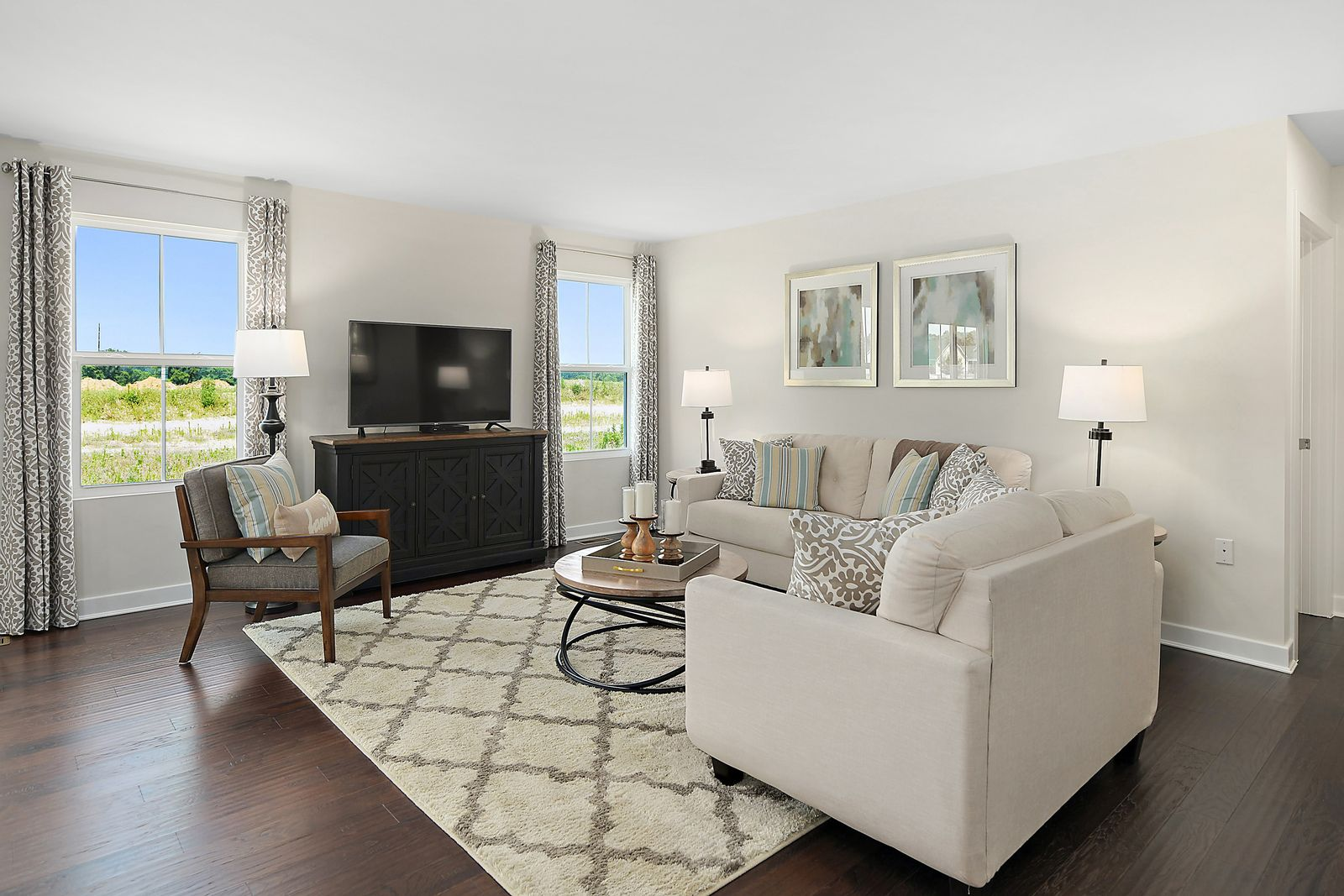 Living Area featured in the Dominica By Ryan Homes in Rochester, NY