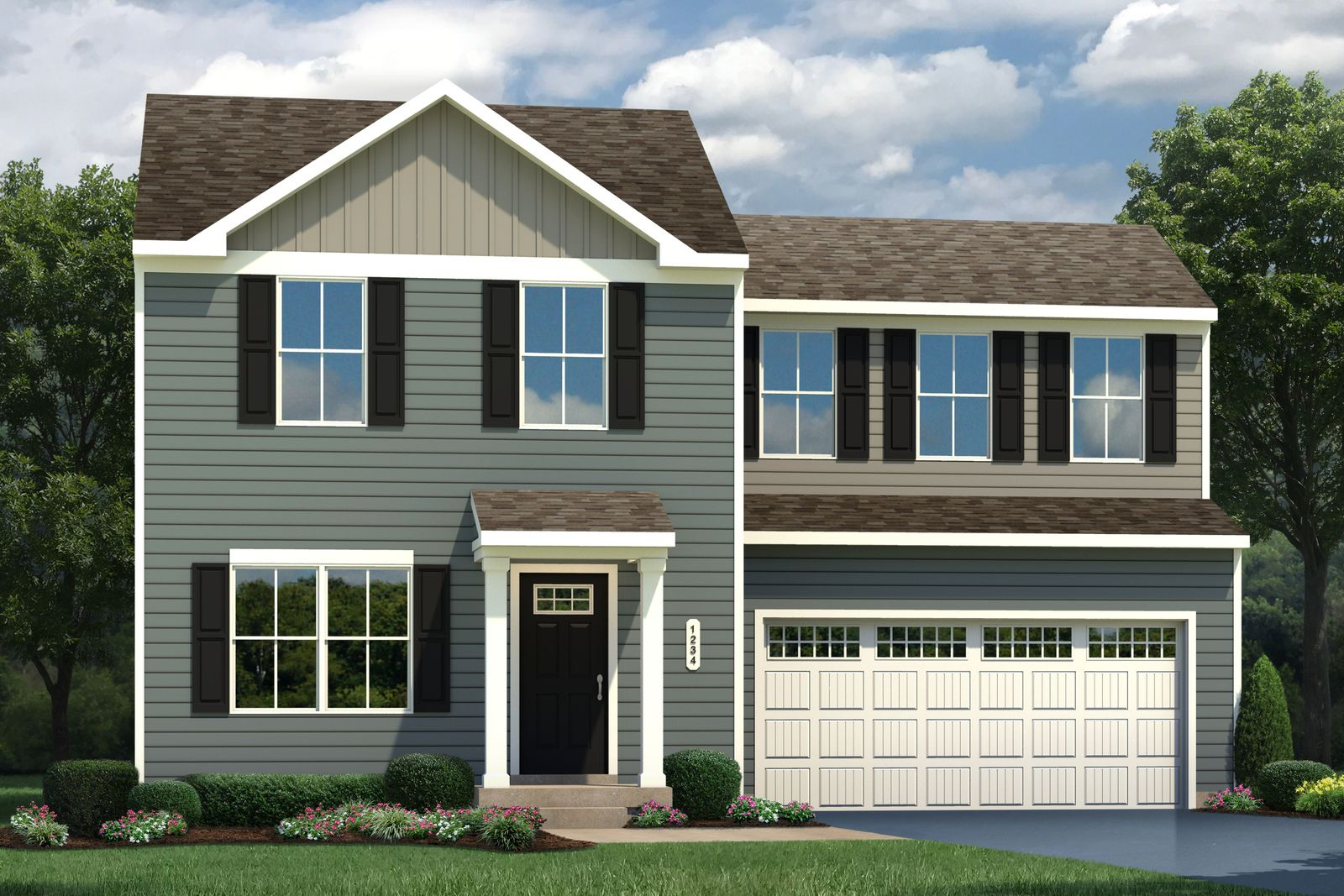 Exterior featured in the Aspen By Ryan Homes in Buffalo-Niagara Falls, NY