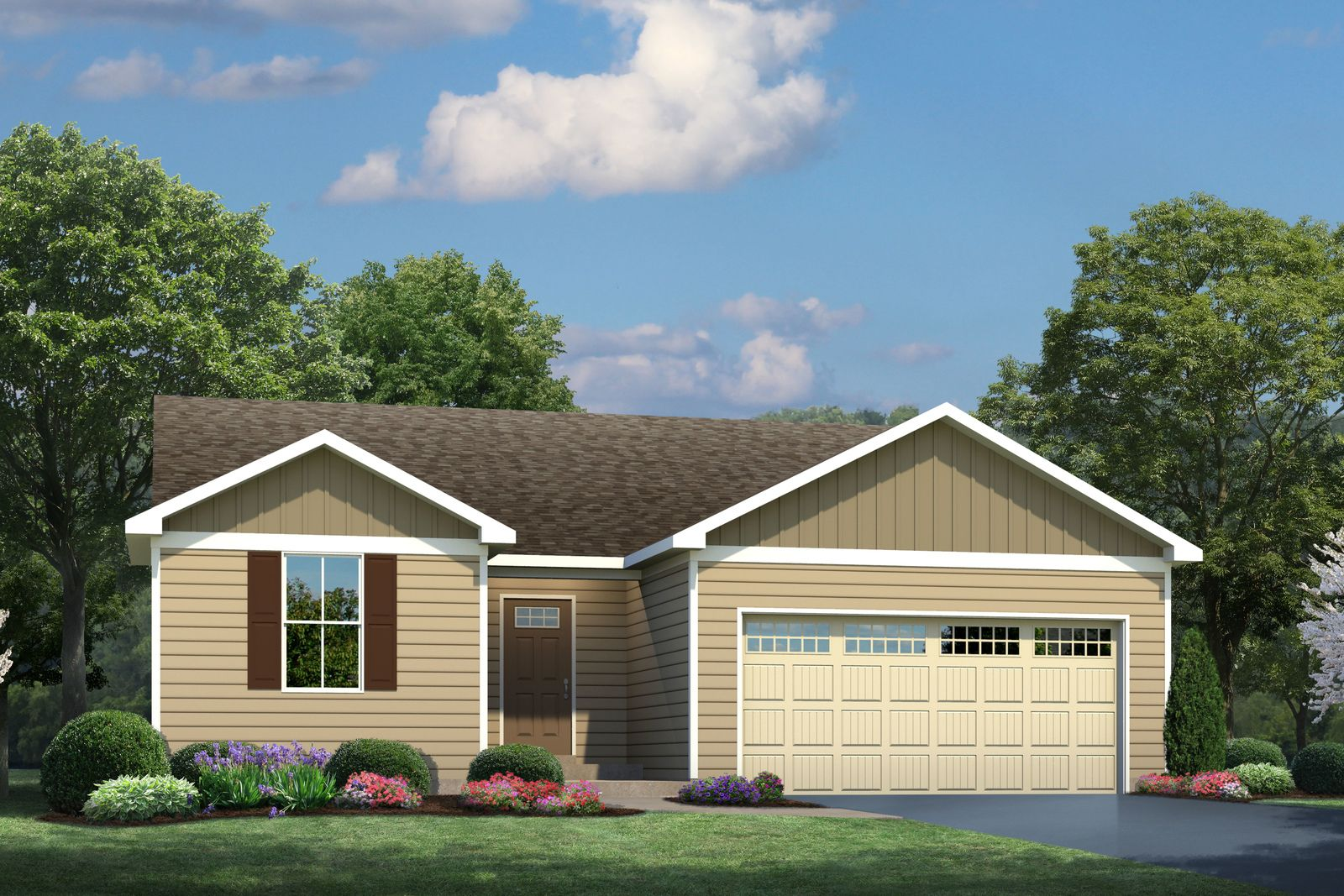 Exterior featured in the Spruce By Ryan Homes in Buffalo-Niagara Falls, NY