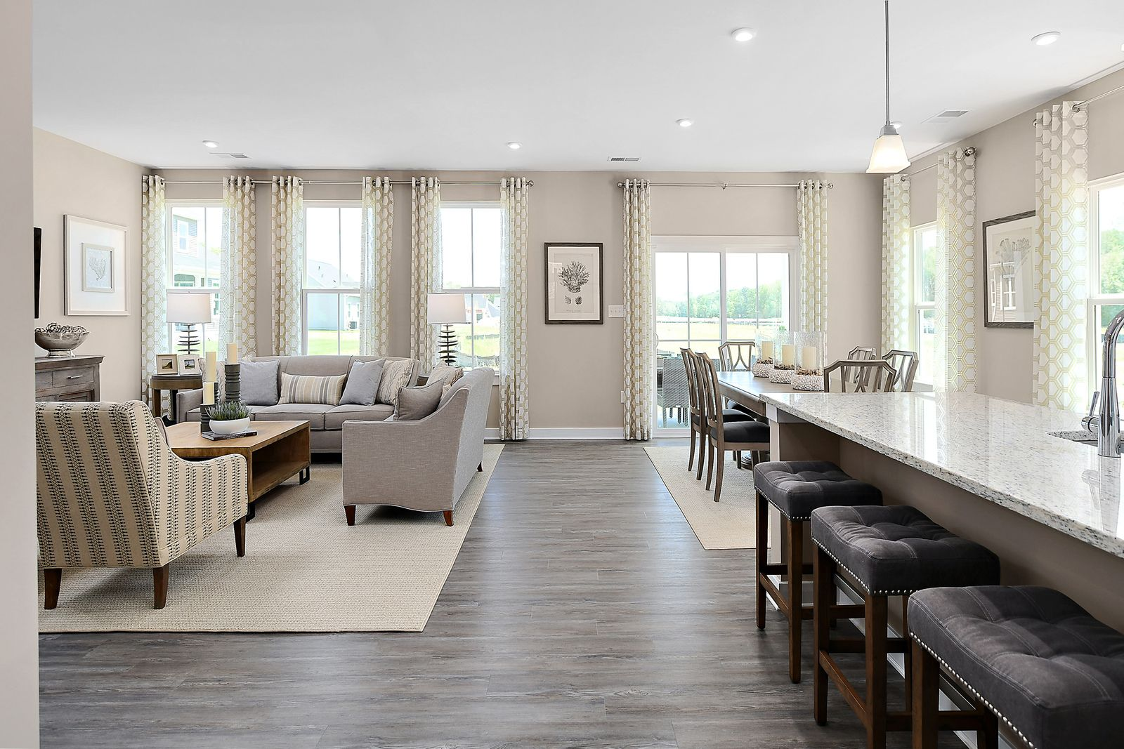 Living Area featured in the Ashbrooke By Ryan Homes in Sussex, DE