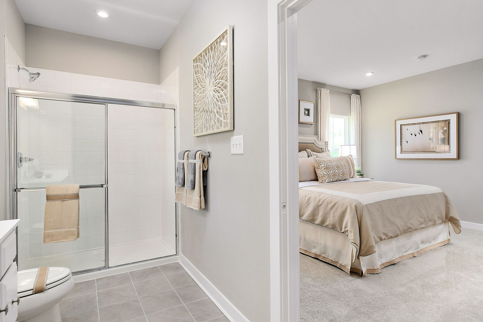 Bedroom featured in the Ashbrooke By Ryan Homes in Sussex, DE