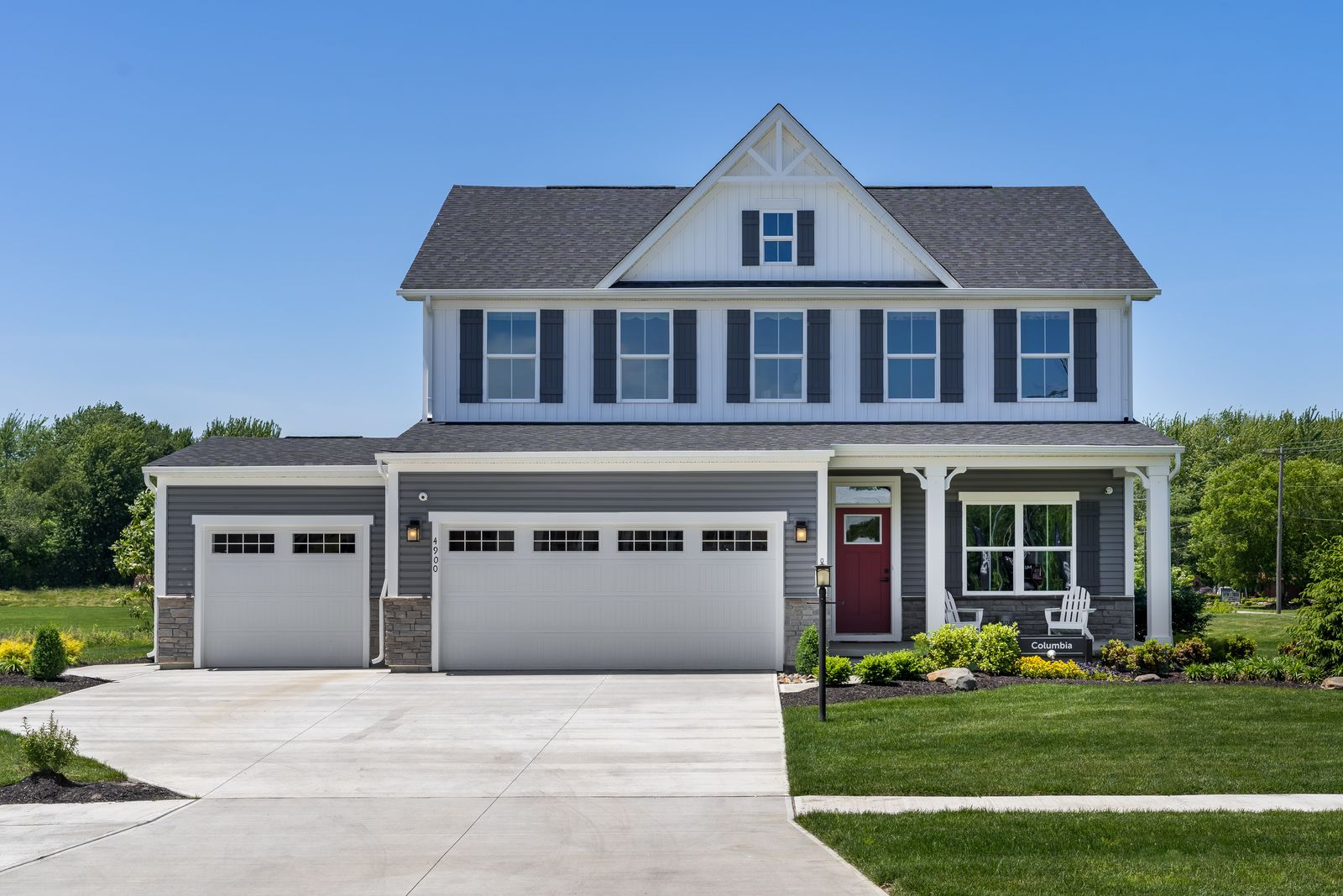 Exterior featured in the Columbia 3 Car Garage By Ryan Homes in Baltimore, MD