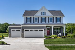 Columbia 3 Car Garage - Two Rivers - All Ages Single Family Homes: Odenton, Maryland - Ryan Homes