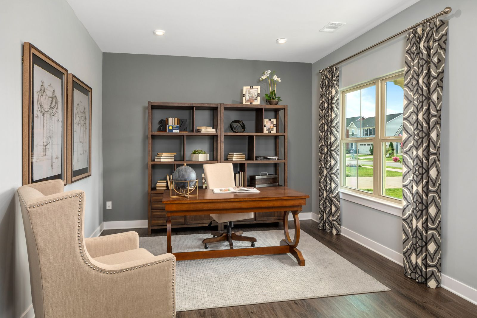 Living Area featured in the Hudson w/ Finished Basement By Ryan Homes in Dayton-Springfield, OH