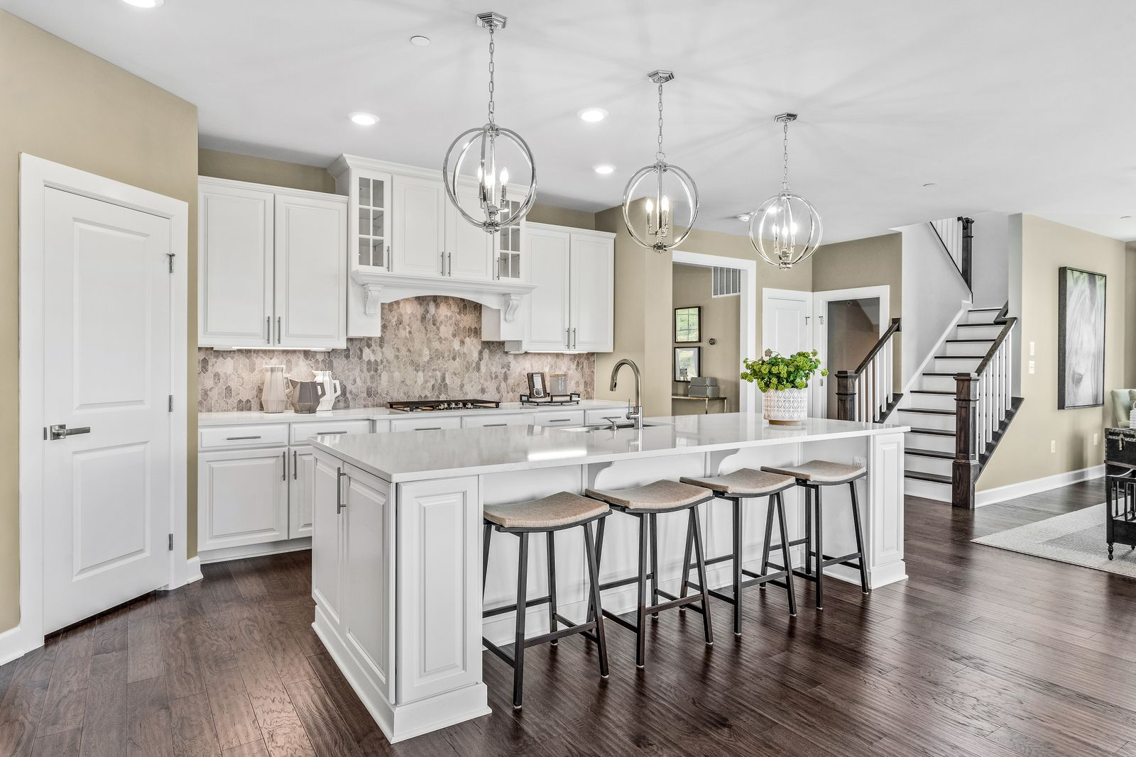 Kitchen featured in the Marymount By NVHomes in Philadelphia, PA