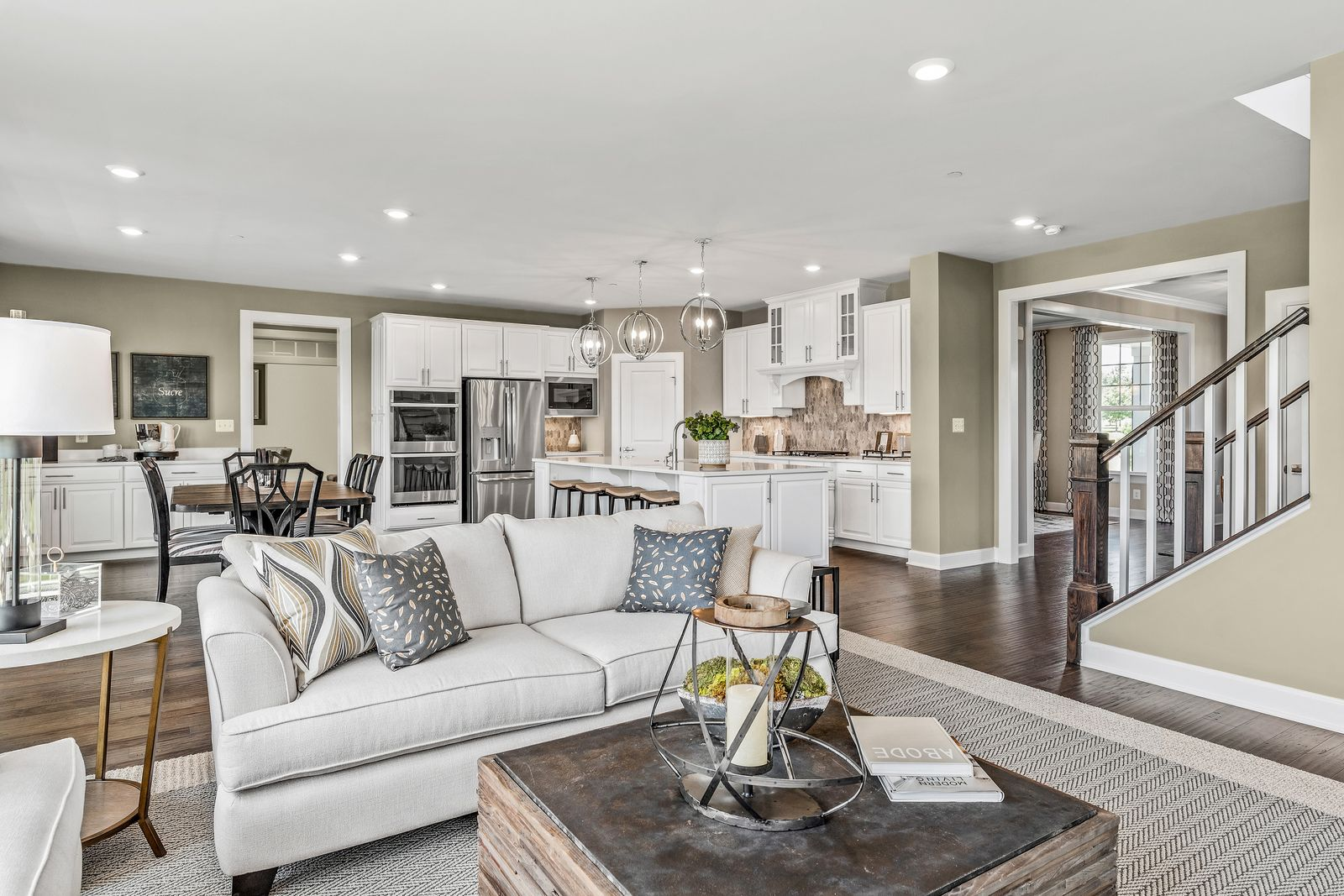 Living Area featured in the Marymount By NVHomes in Philadelphia, PA