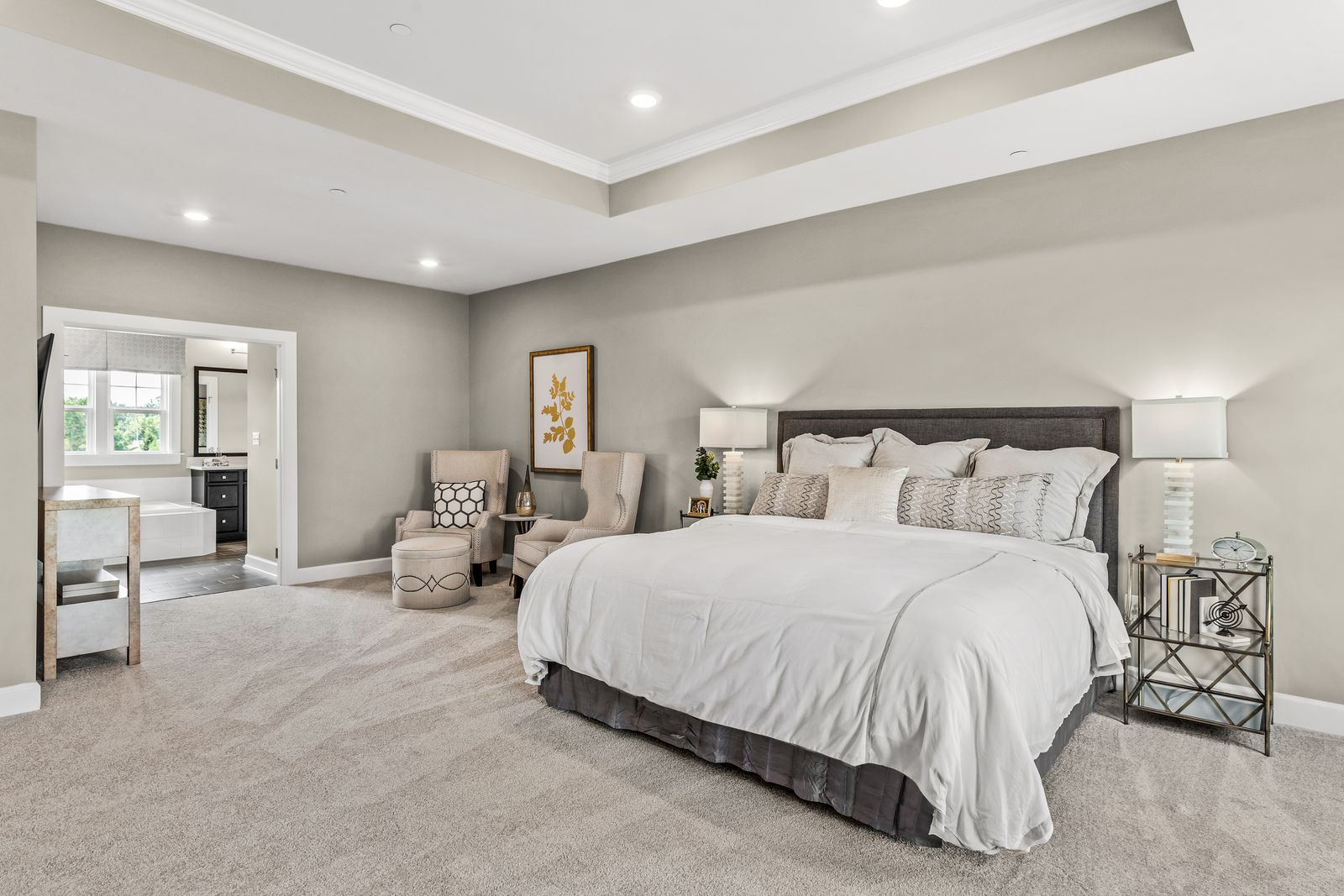 Bedroom featured in the Marymount By NVHomes in Philadelphia, PA