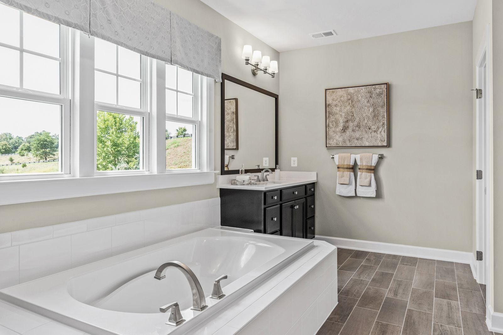 Bathroom featured in the Marymount By NVHomes in Washington, MD