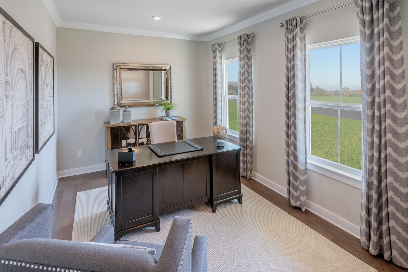 Living Area featured in the Seneca at The Preserve By Ryan Homes in Richmond-Petersburg, VA