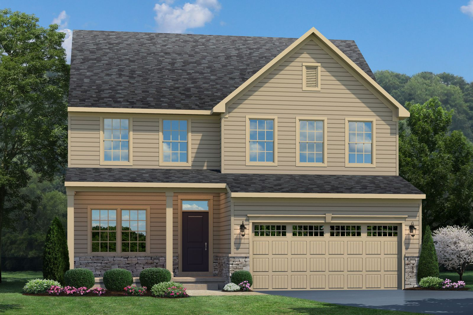 Exterior featured in the Columbia By Ryan Homes in Norfolk-Newport News, VA