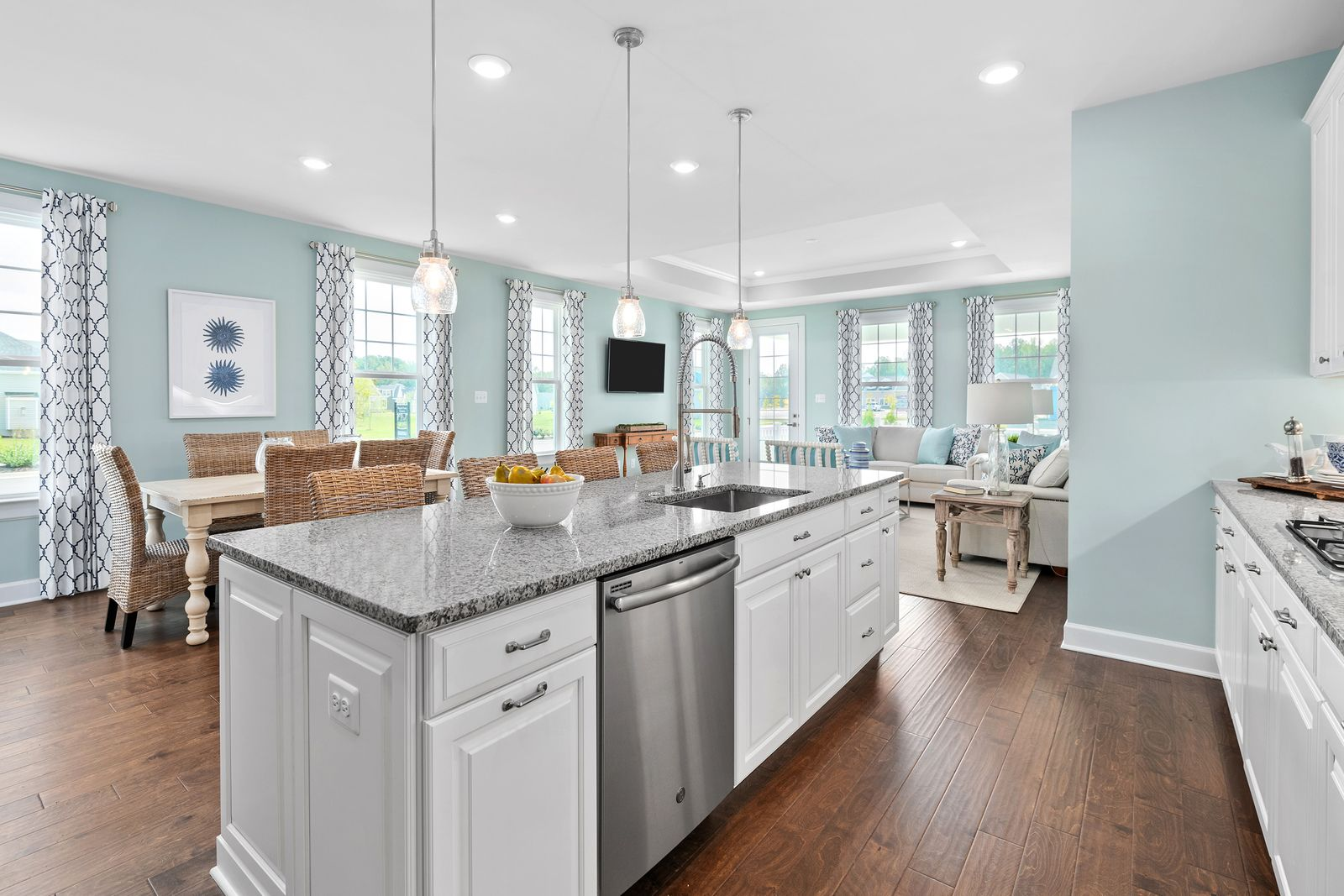 Kitchen featured in the Clarkson By NVHomes in Philadelphia, PA