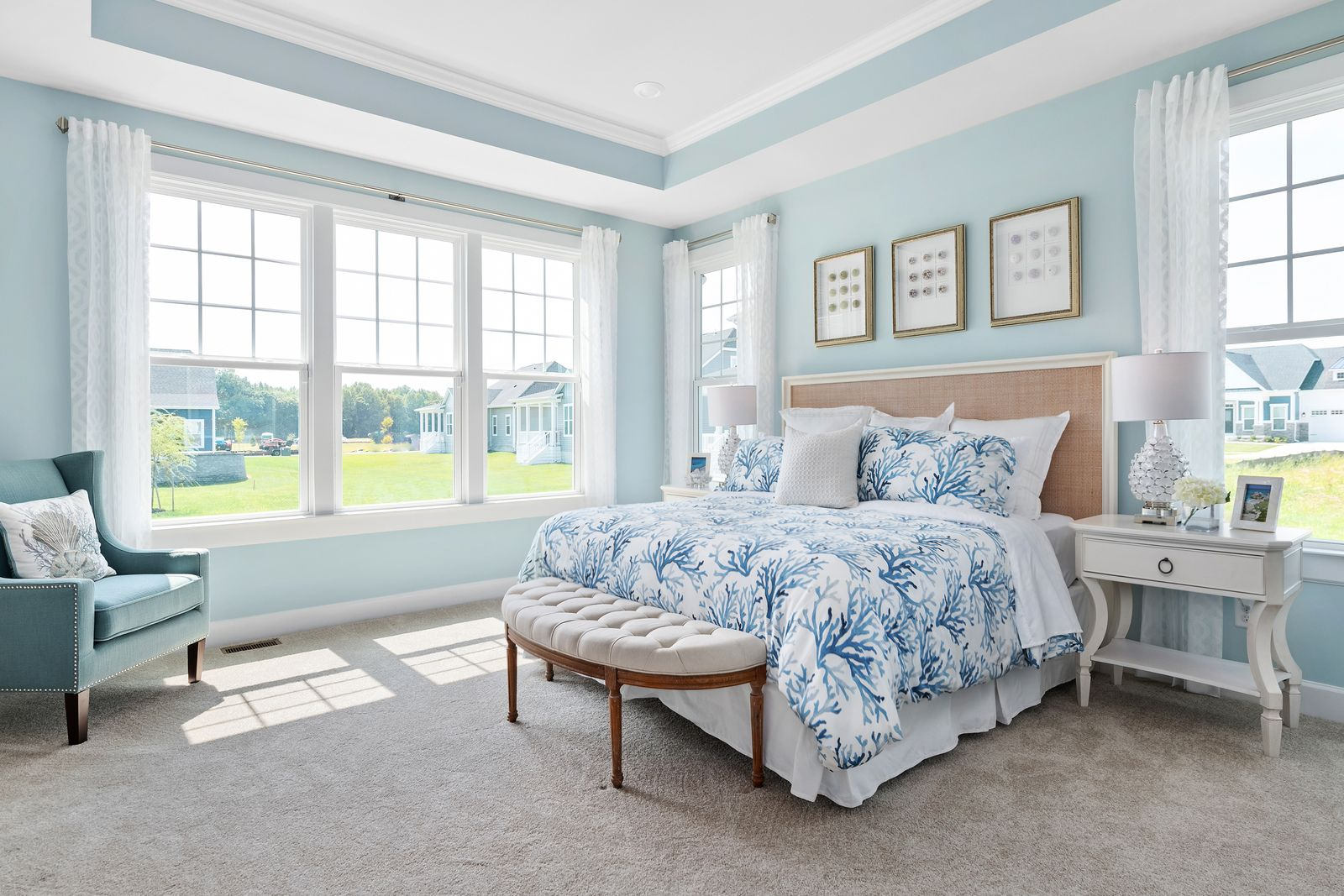 Bedroom featured in the Clarkson By NVHomes in Sussex, DE