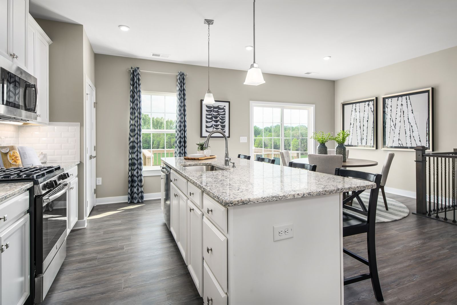 Kitchen featured in the Mendelssohn with 1-Car Garage By Ryan Homes in Philadelphia, NJ