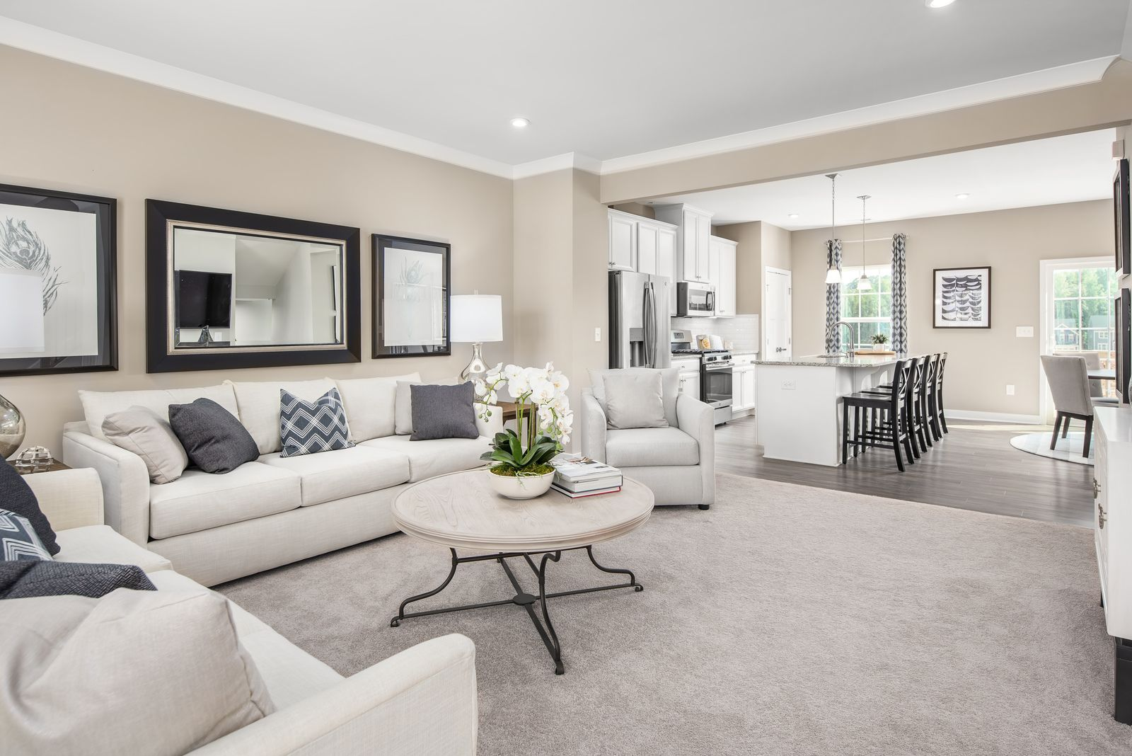 Living Area featured in the Mendelssohn with 1-Car Garage By Ryan Homes in Philadelphia, NJ