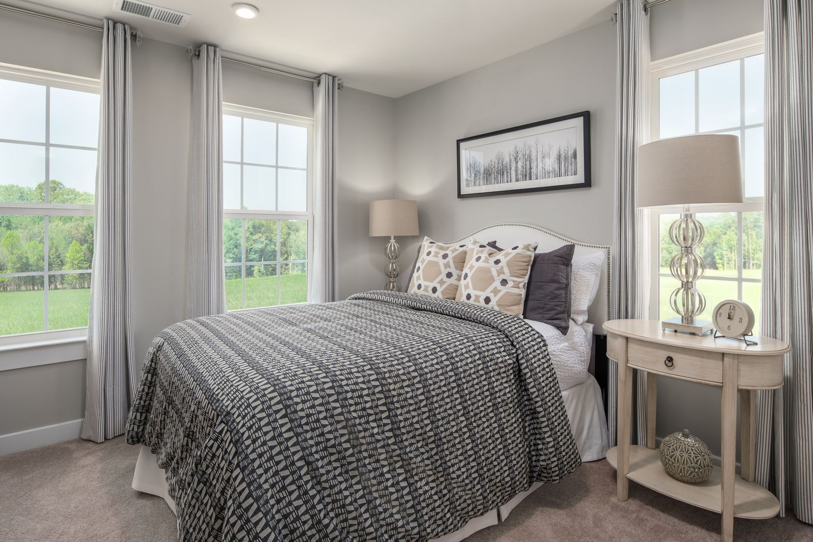 Bedroom featured in the Mendelssohn with 1-Car Garage By Ryan Homes in Philadelphia, NJ