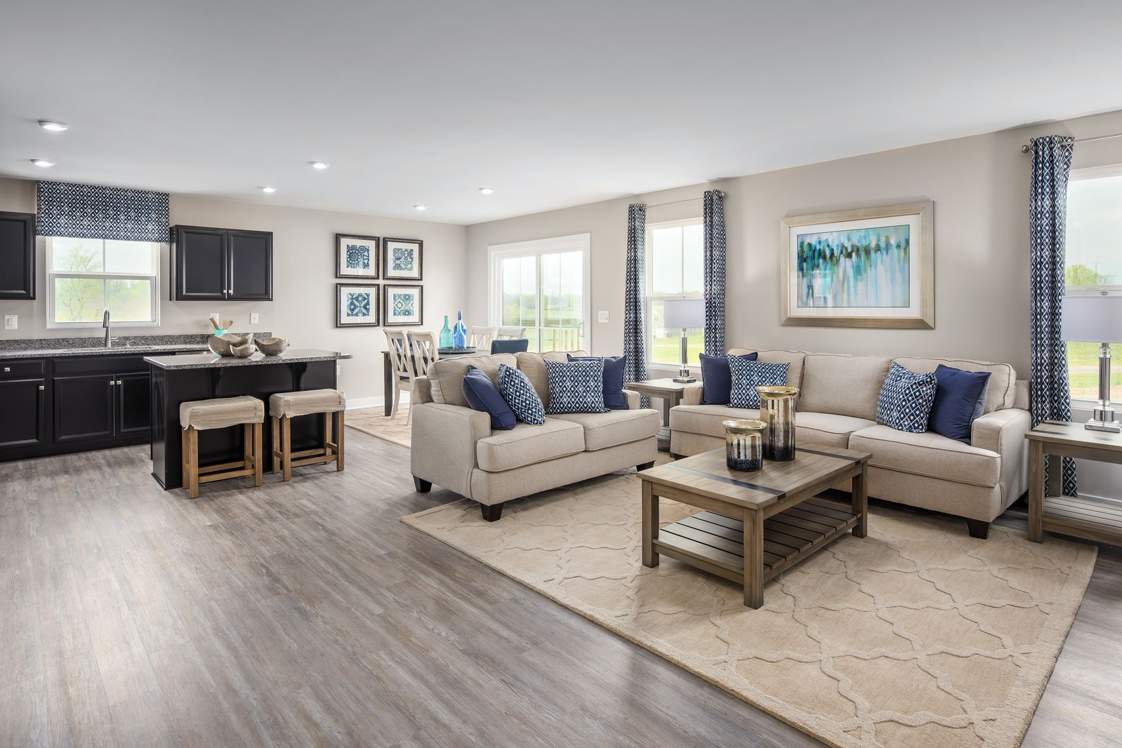 Living Area featured in the Barbados Isle By Ryan Homes in Harrisonburg, VA