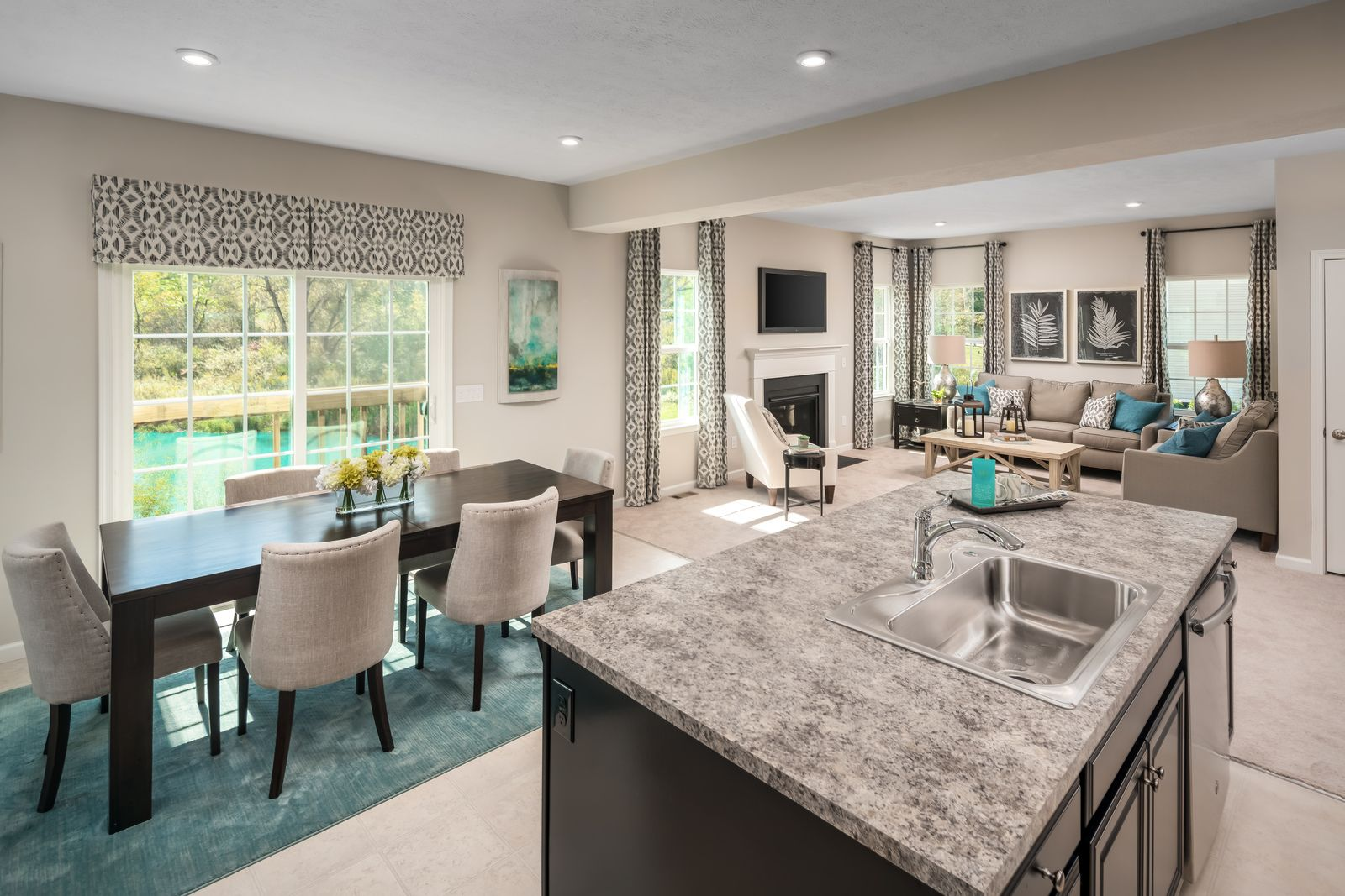 Living Area featured in the Allegheny By Ryan Homes in Cleveland, OH